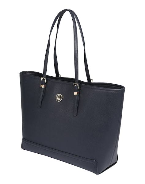 Shopper für Frauen - TOMMY HILFIGER Shopper 'Honey' navy  - Onlineshop ABOUT YOU