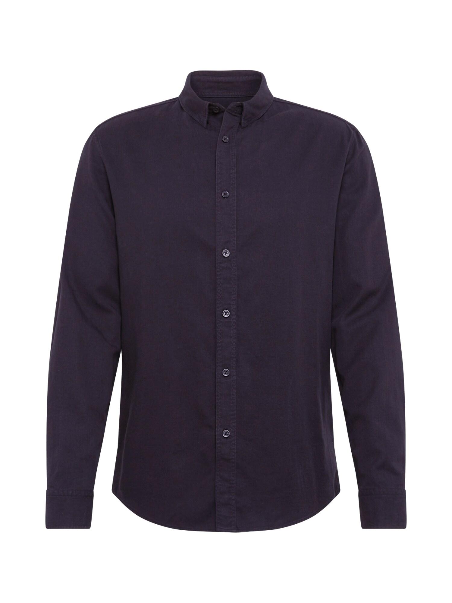 DRYKORN Dalykiniai marškiniai 'LOKEN' juoda