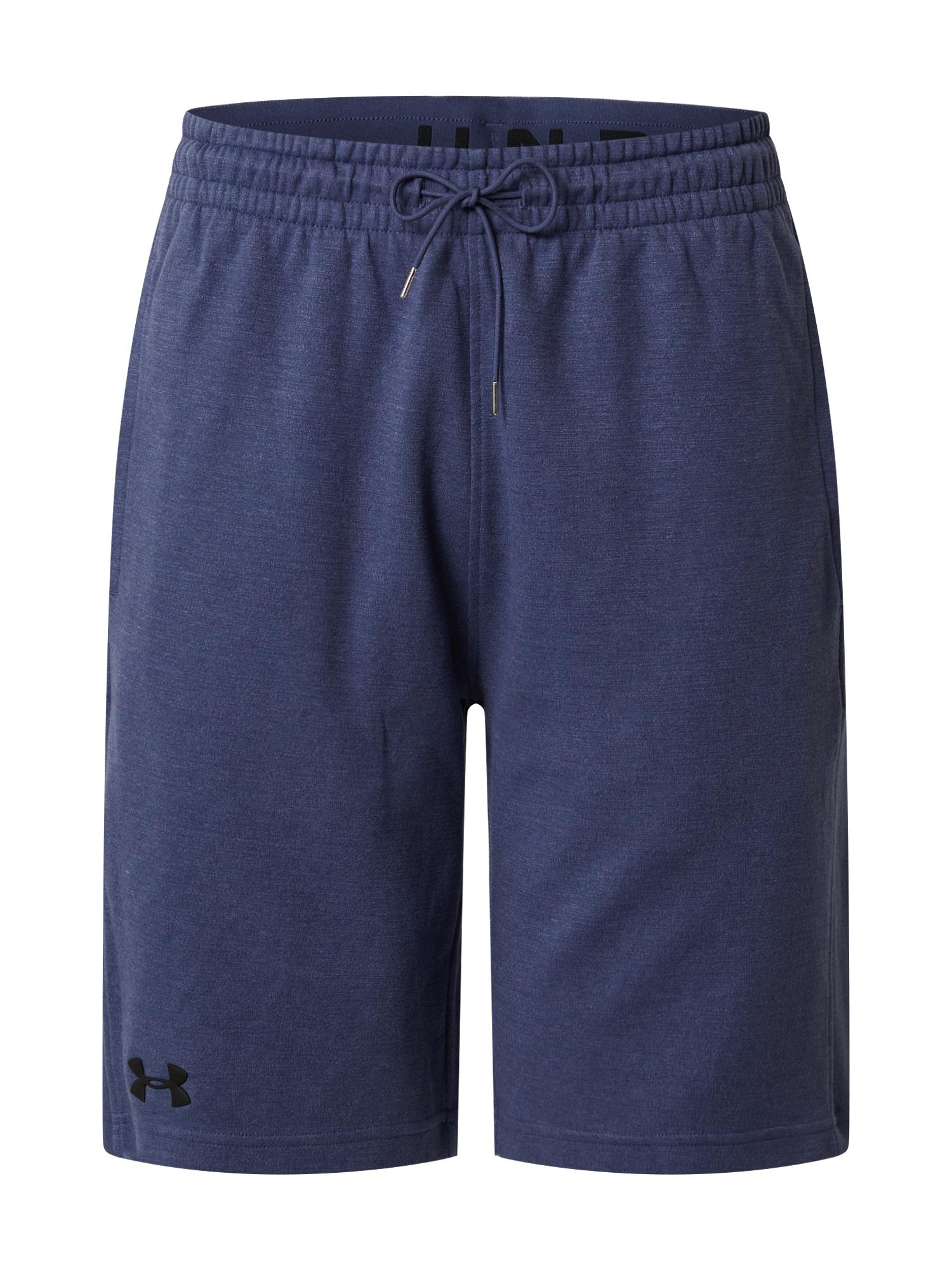 UNDER ARMOUR Športové nohavice 'DOUBLE KNIT SHORTS'  modré