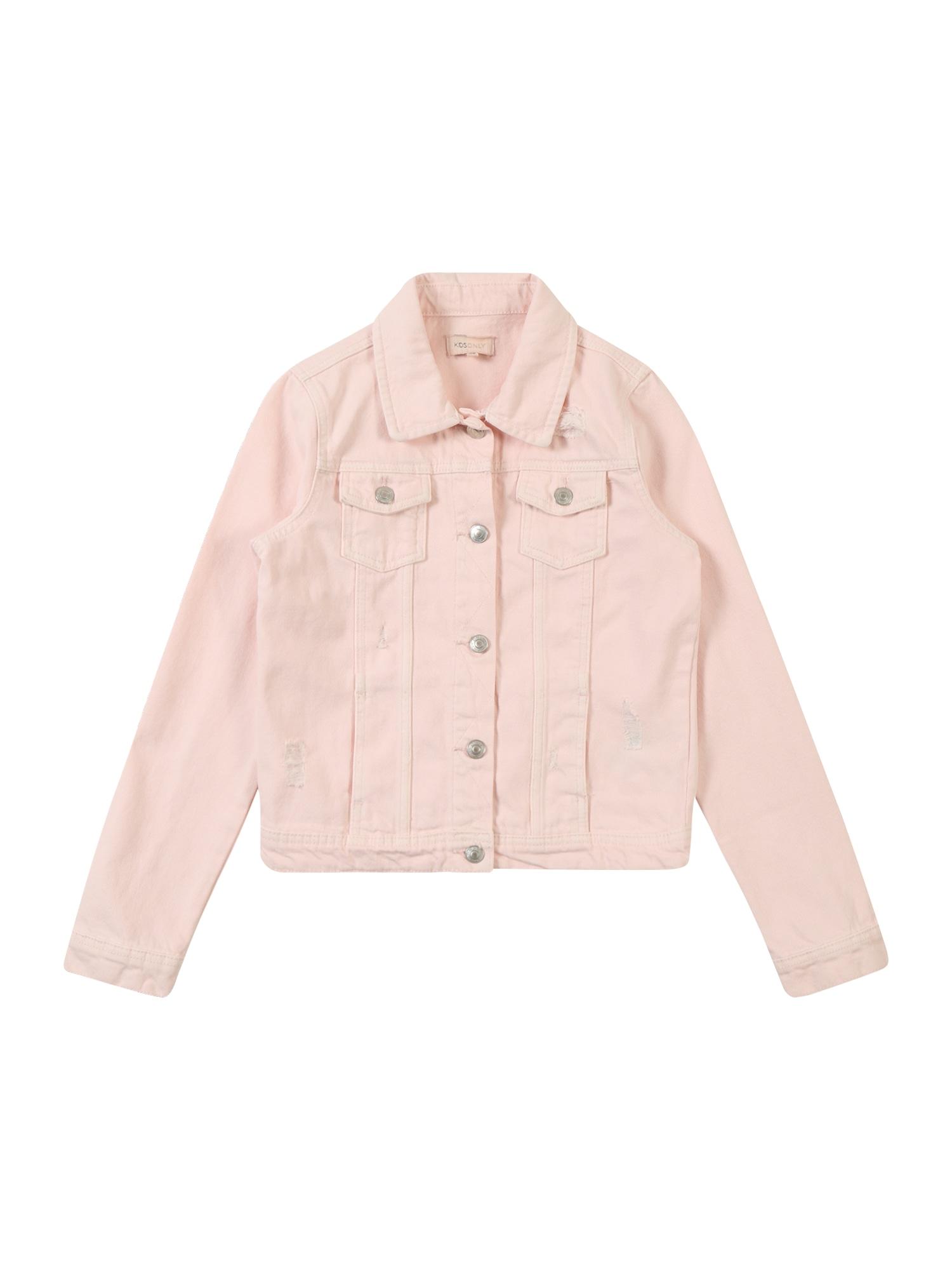 Přechodná bunda konCOLOR DNM JACKET PIM růžová KIDS ONLY