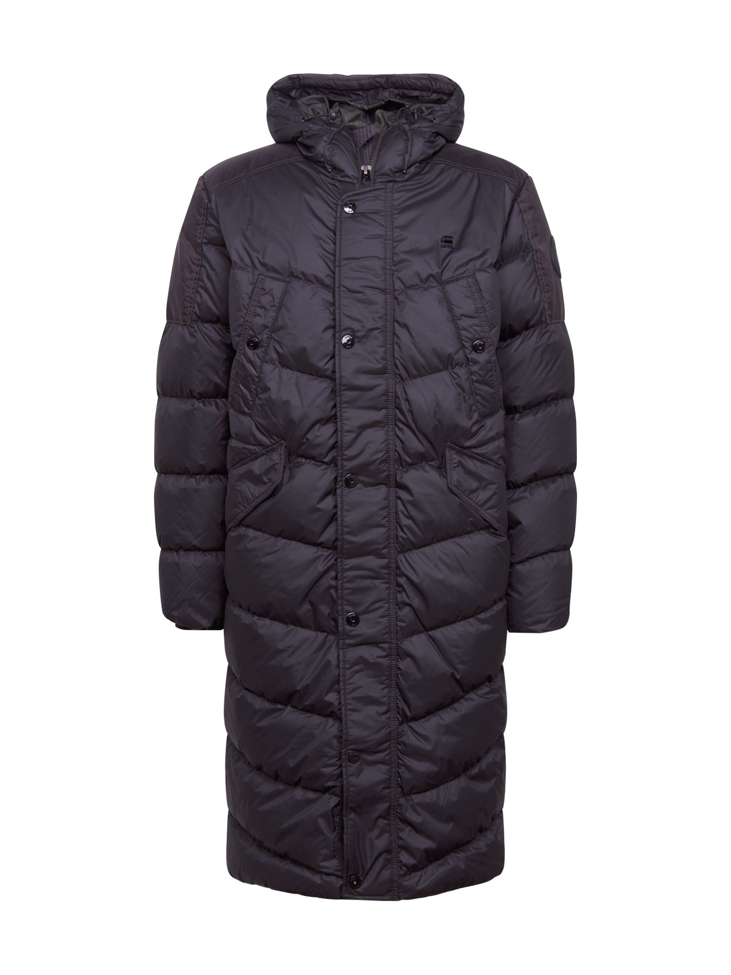 G-Star RAW Žieminis paltas 'Whistler down long parka' juoda