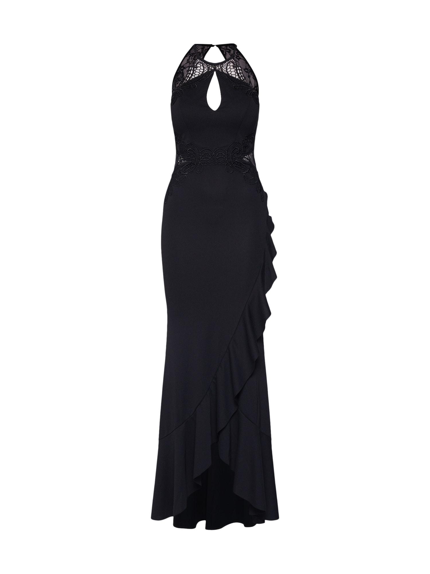 Společenské šaty černá Lipsy