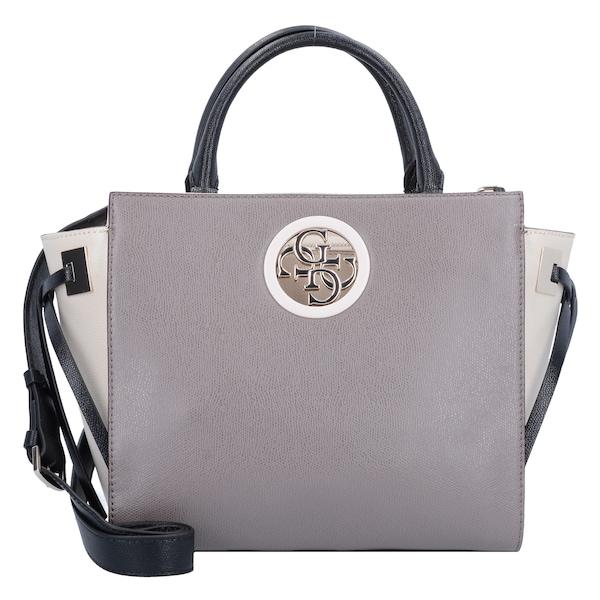 Handtaschen für Frauen - GUESS Handtasche 'Open Road' taupe schwarz  - Onlineshop ABOUT YOU