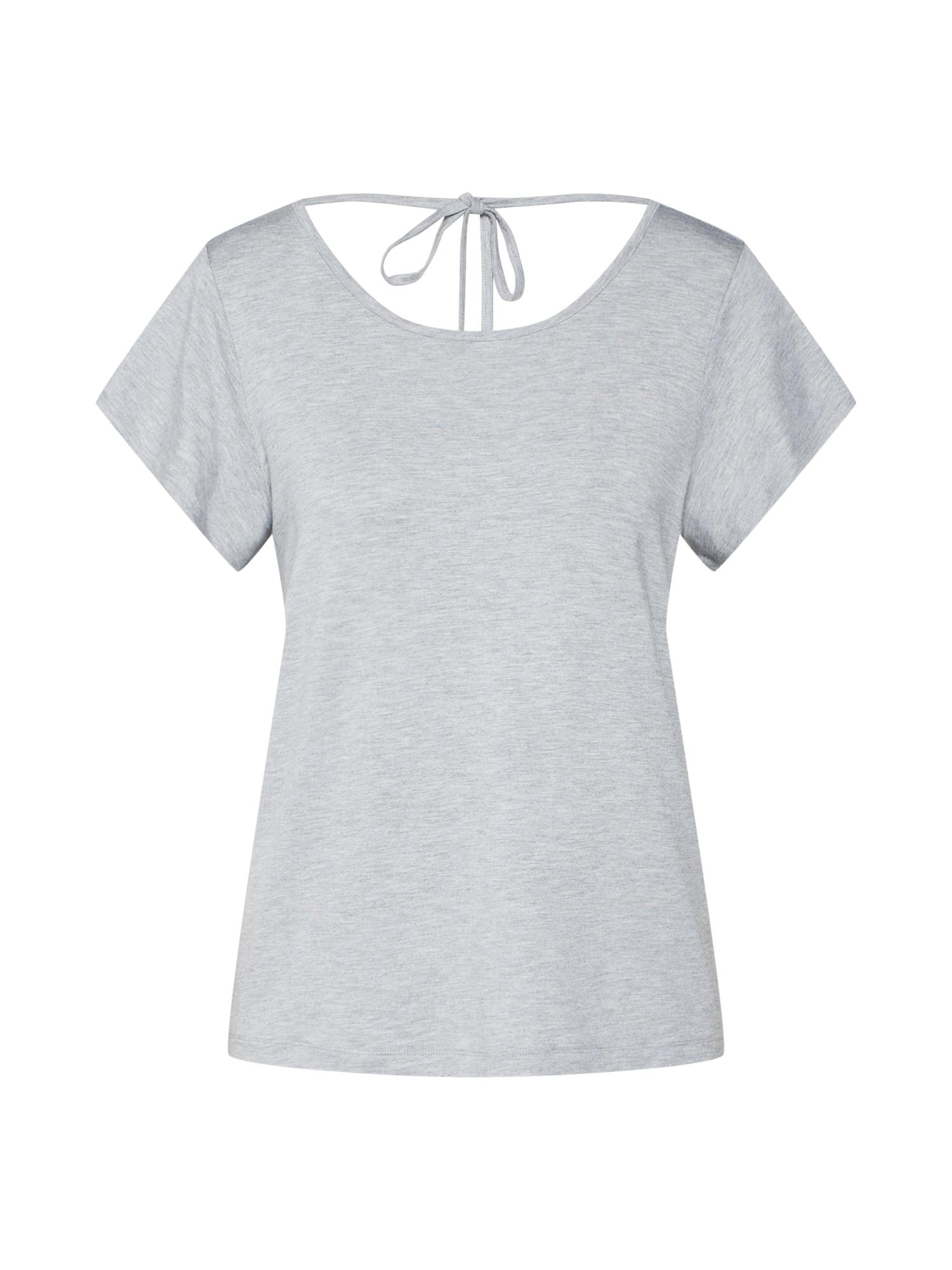 ABOUT YOU Marškinėliai 'Jamie' margai pilka