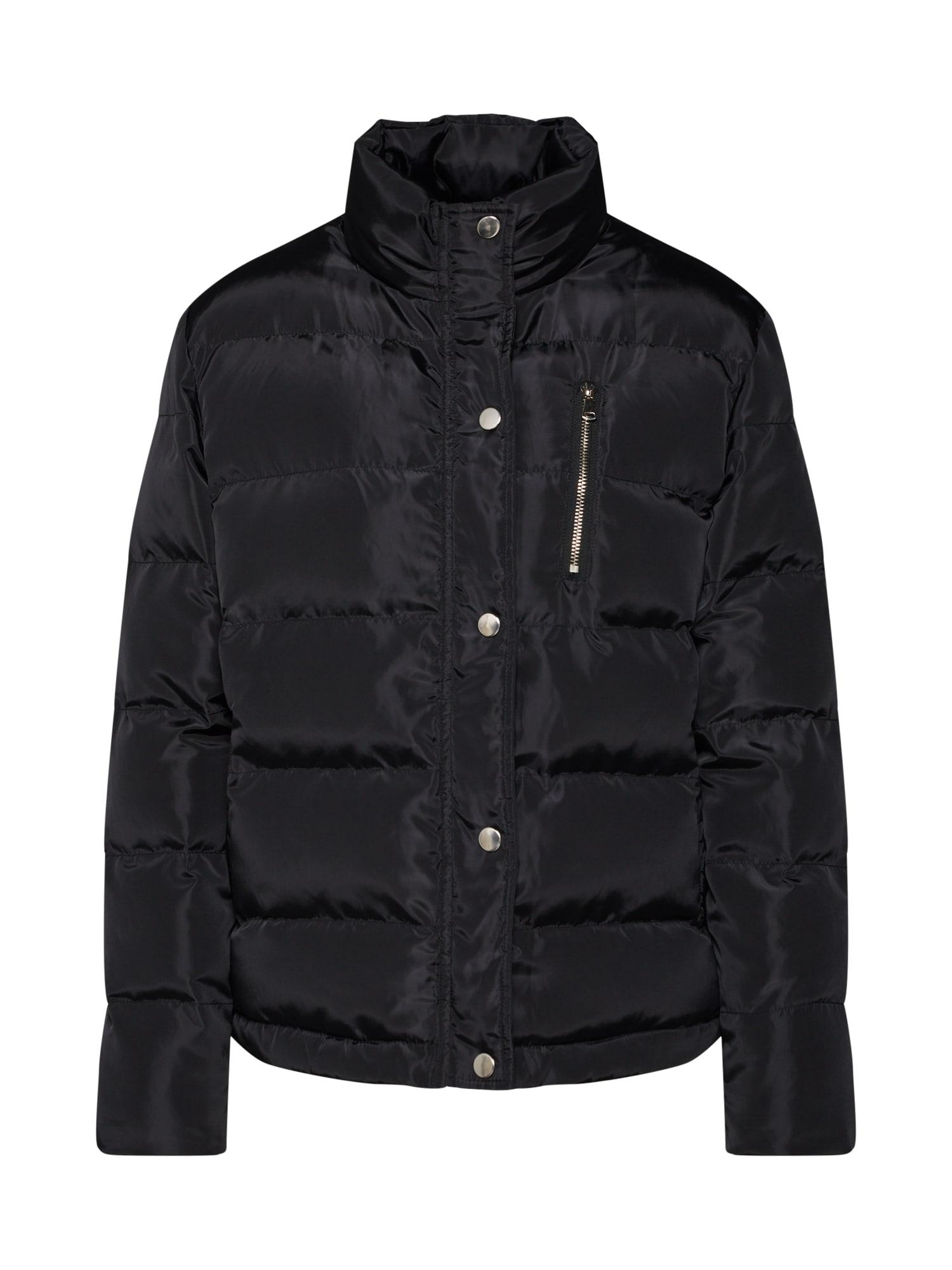 Zimní bunda černá Boohoo