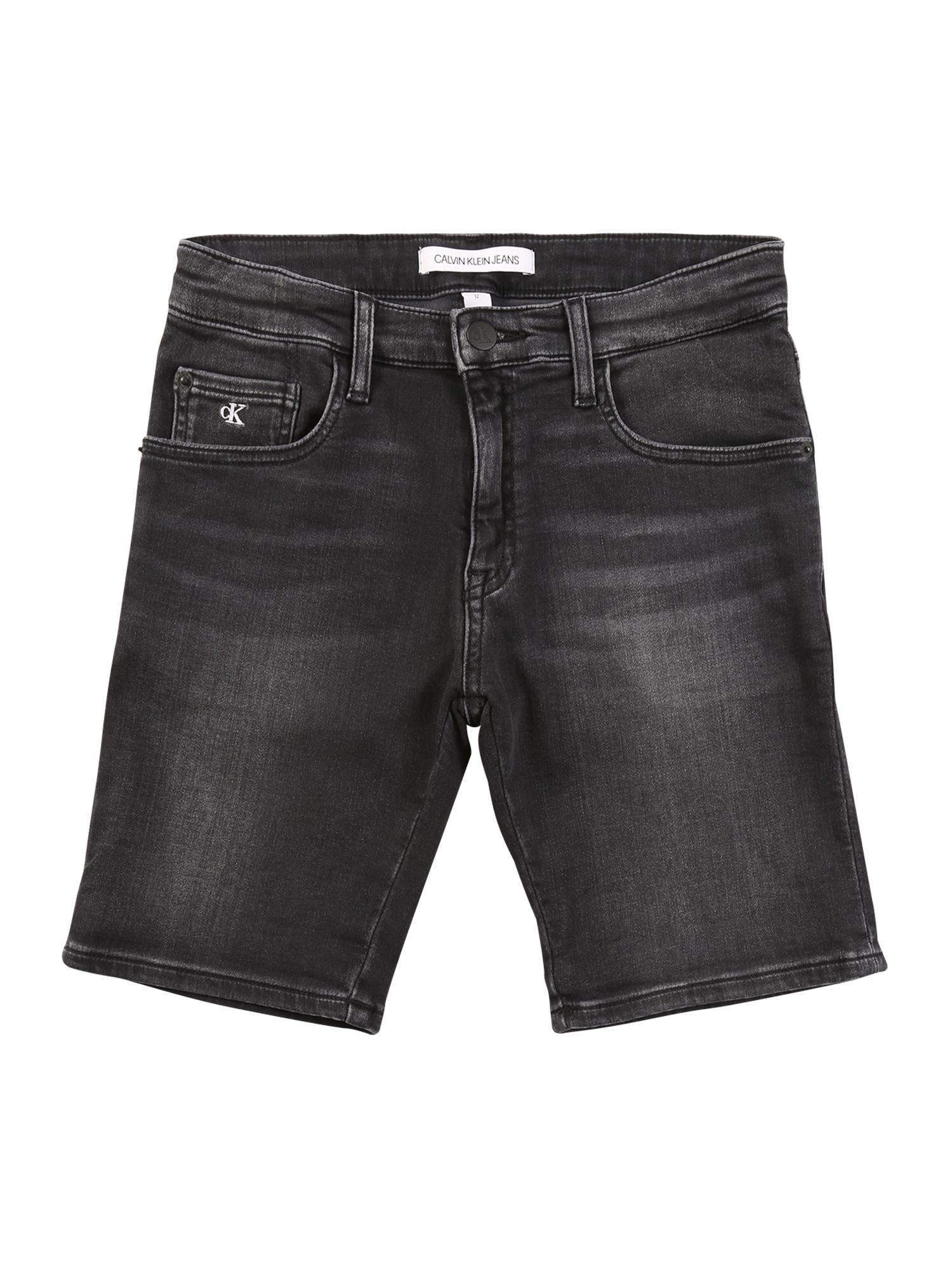 Calvin Klein Jeans Džinsai juodo džinso spalva