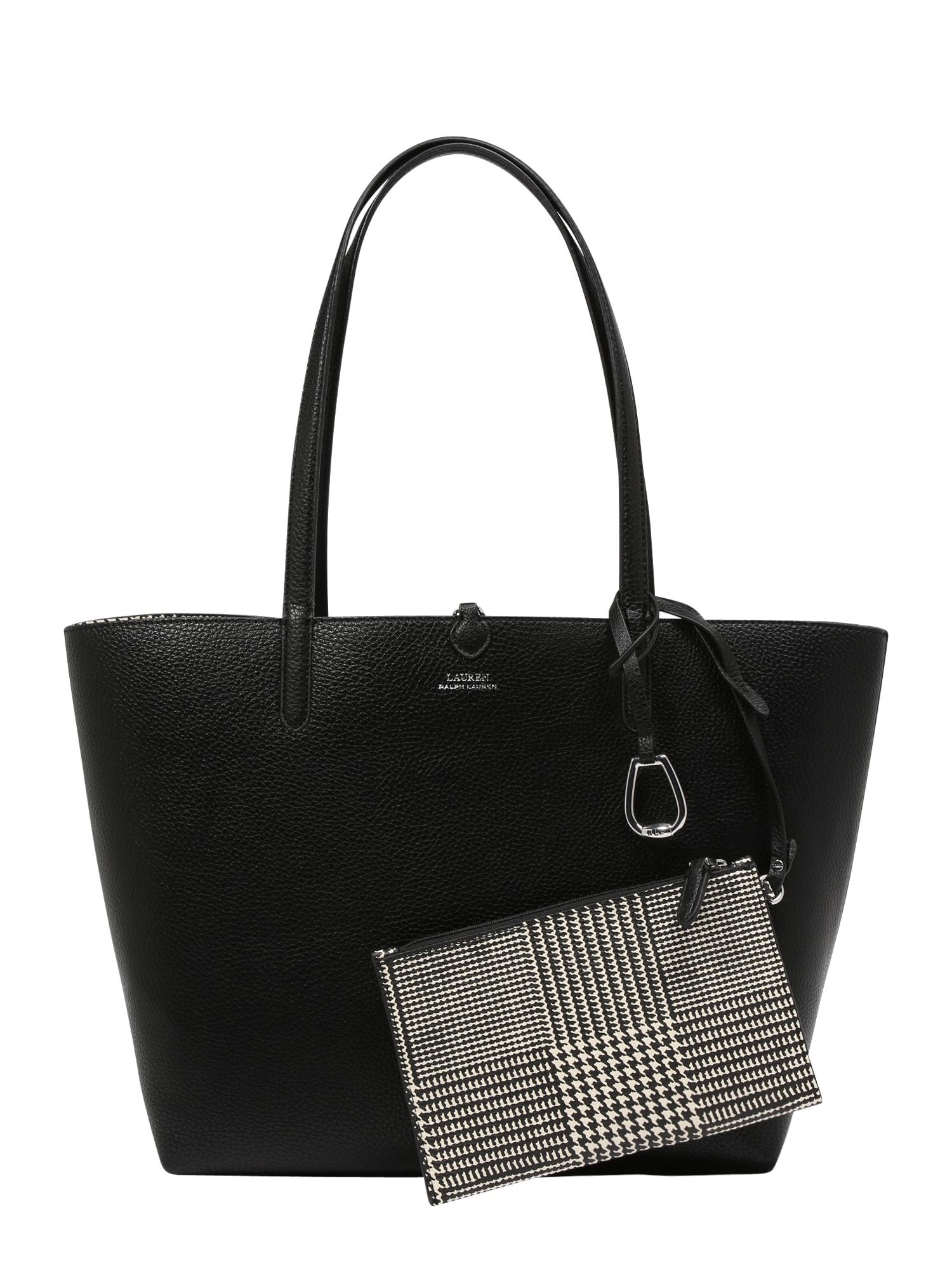 Lauren Ralph Lauren Plase de cumpărături  gri / negru