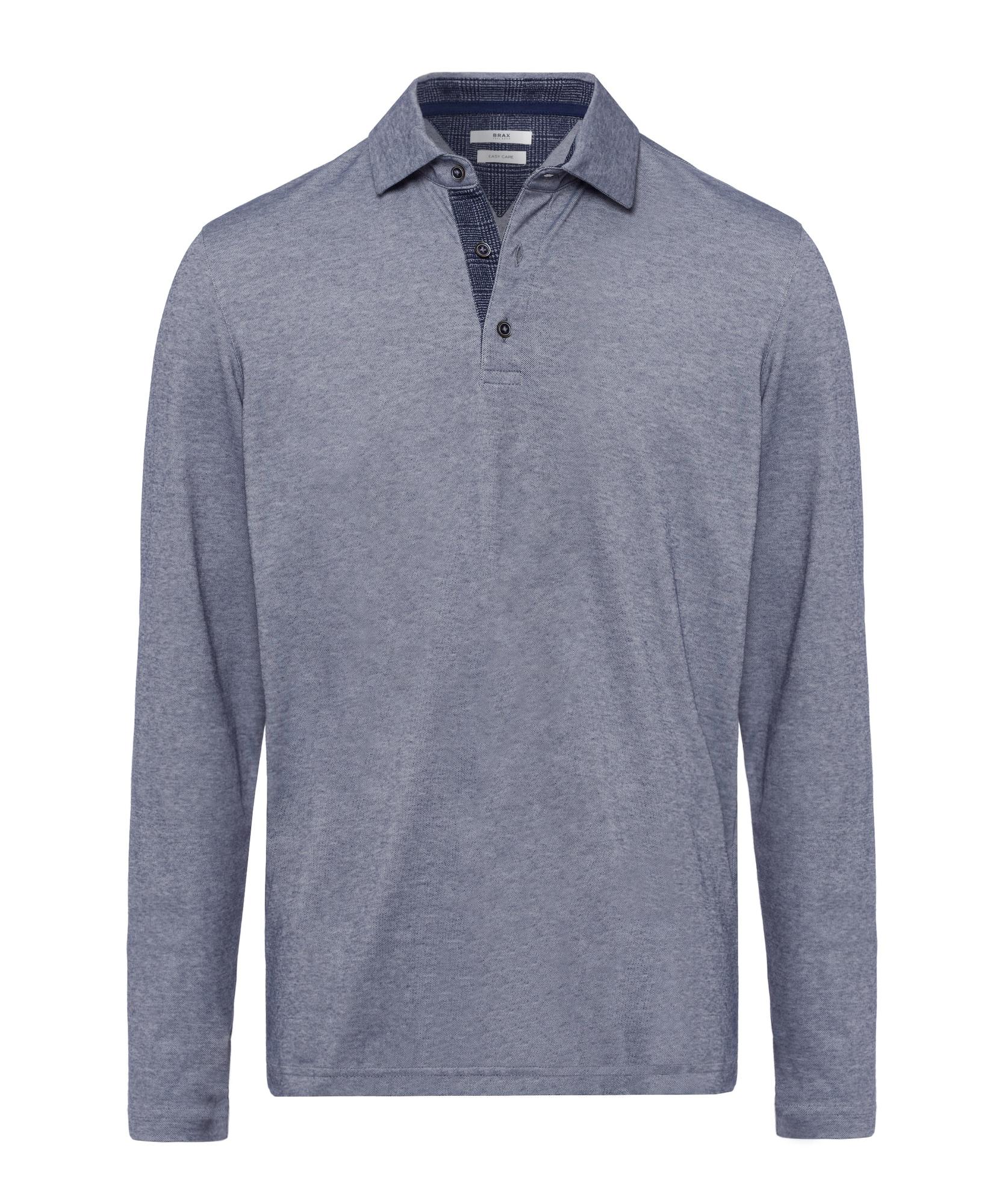 BRAX Marškinėliai 'Style Prescot' melsvai pilka