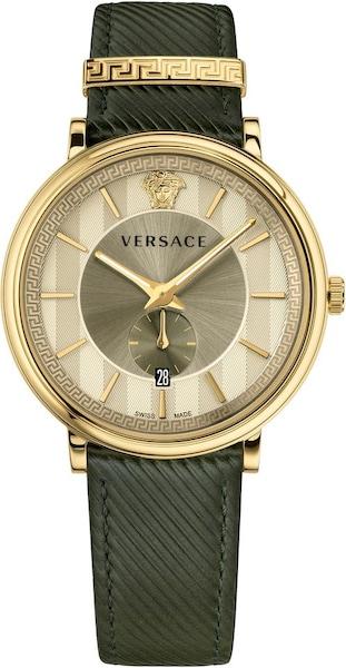 Uhren für Frauen - VERSACE Schweizer Uhr 'VBQ030017' gold khaki  - Onlineshop ABOUT YOU
