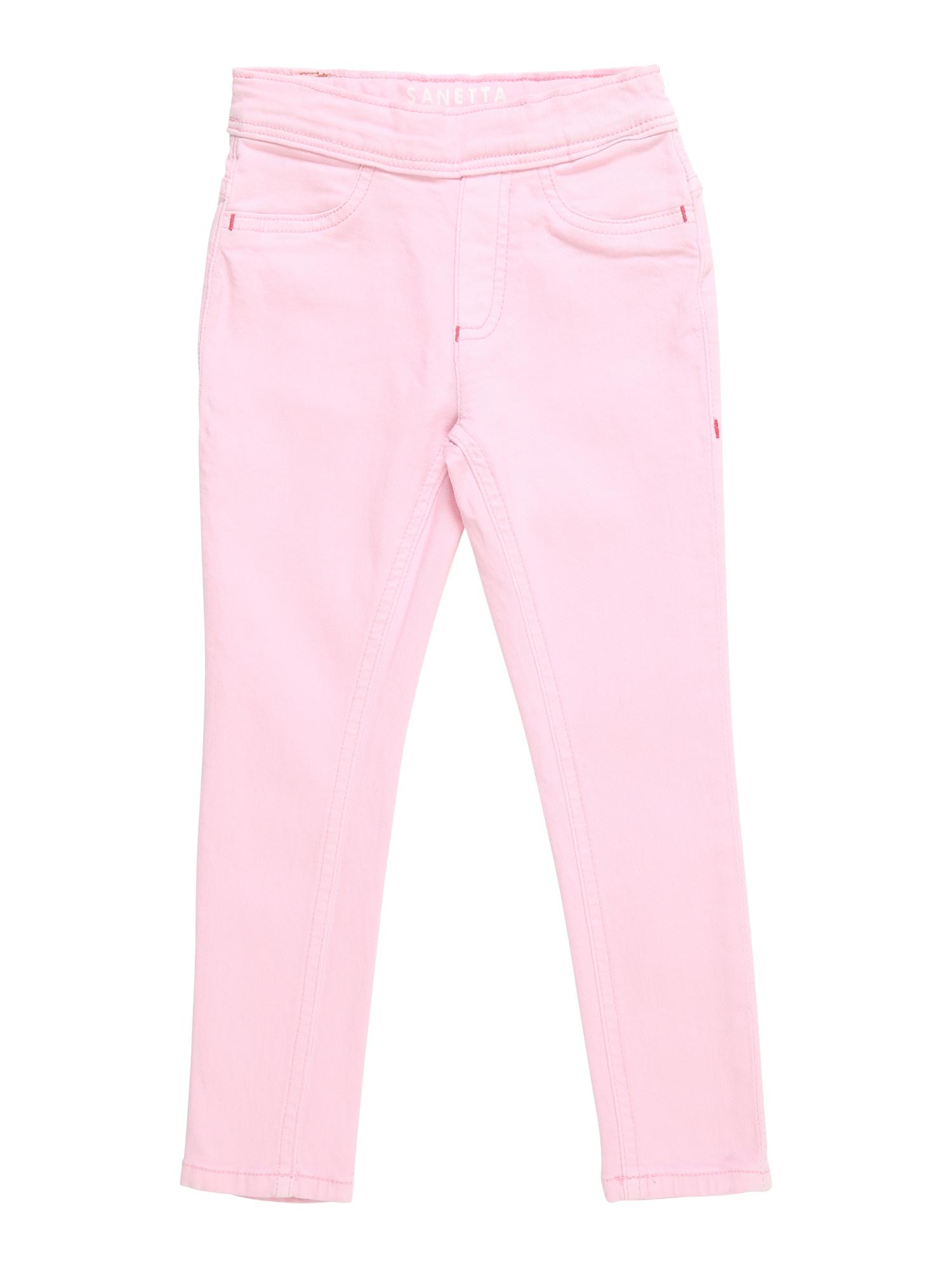 Kalhoty pink Sanetta Kidswear