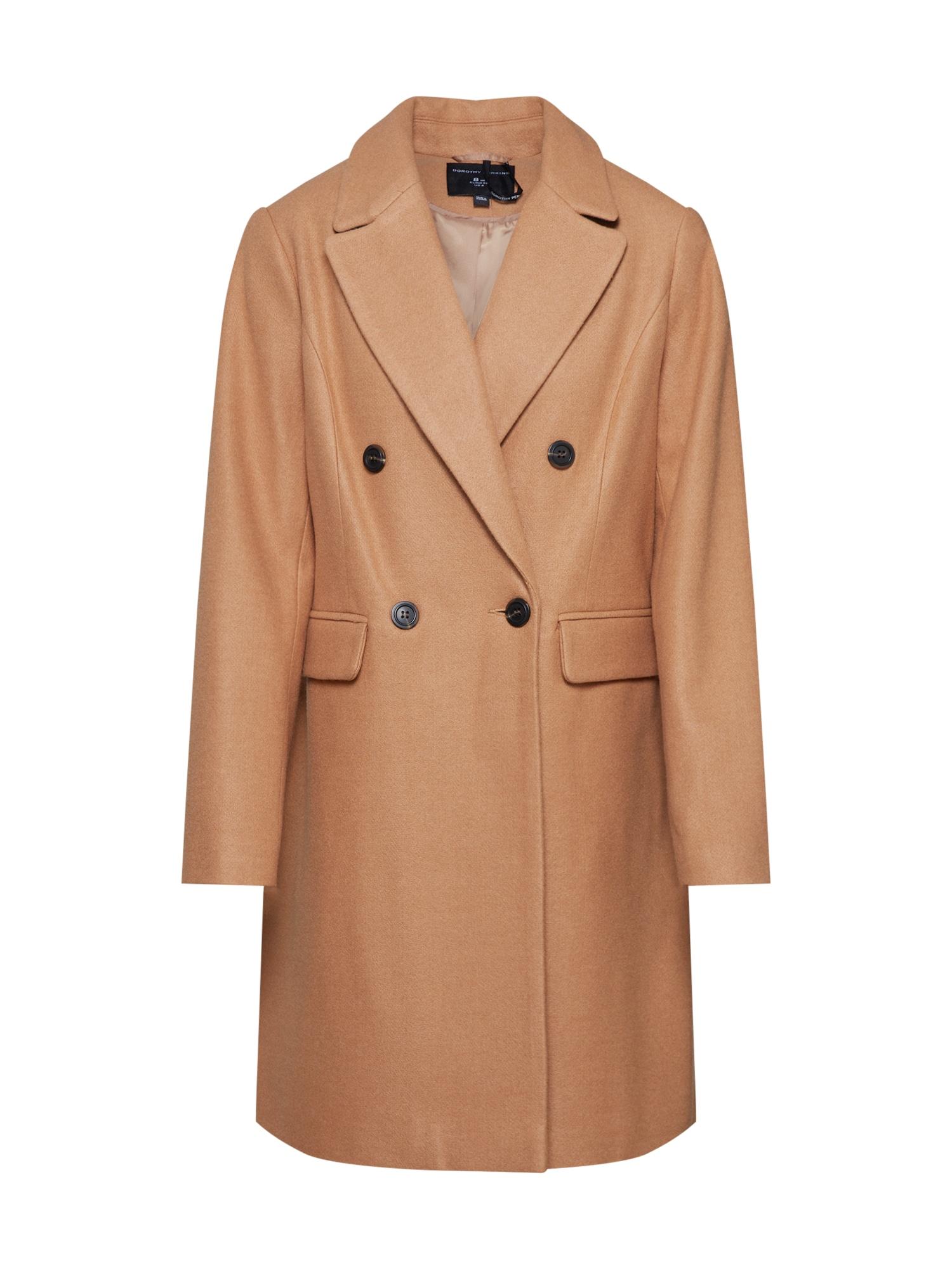 Dorothy Perkins Rudeninis-žieminis paltas šviesiai ruda