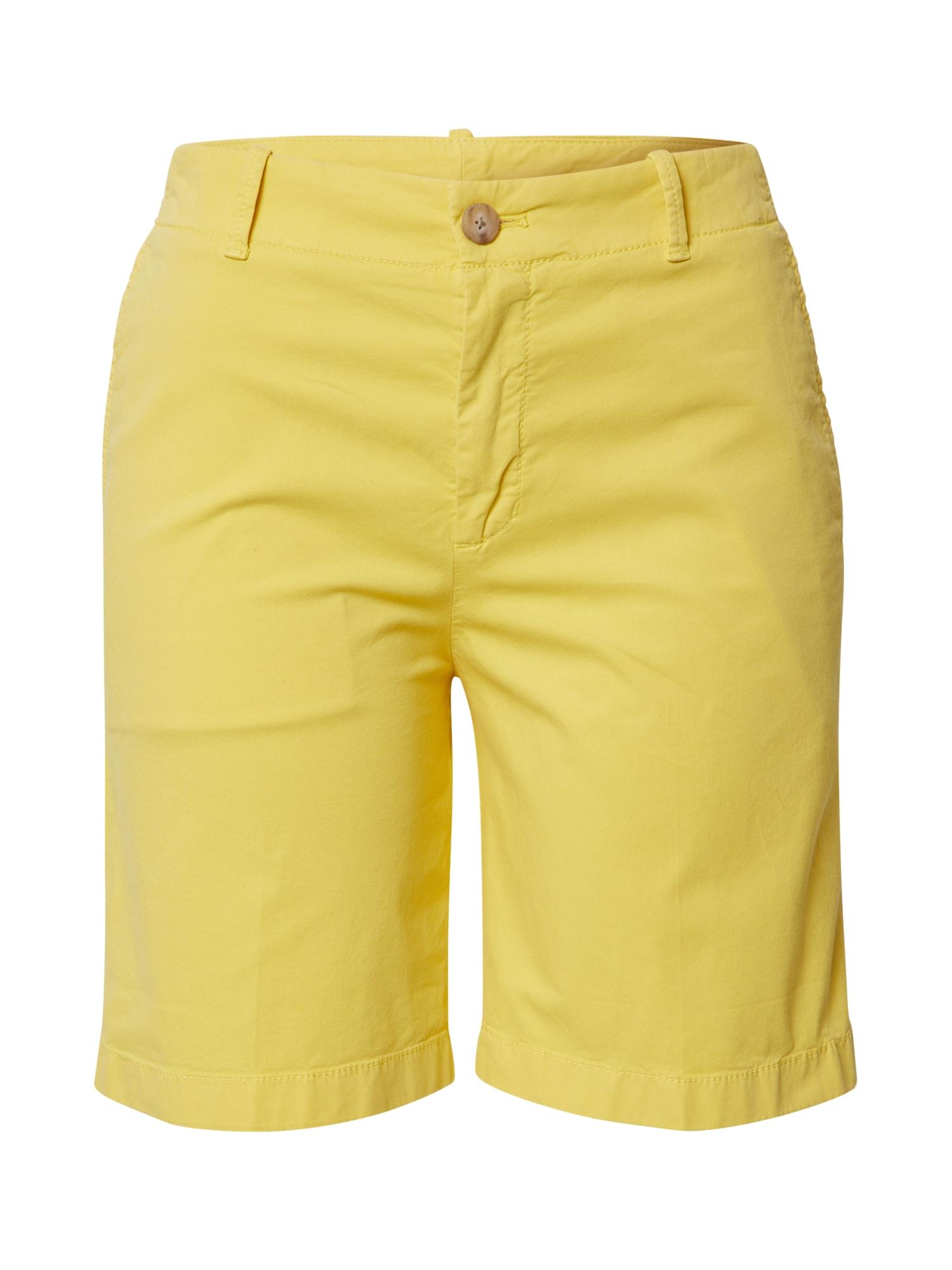 BOSS Kelnės 'Saclea-D' geltona