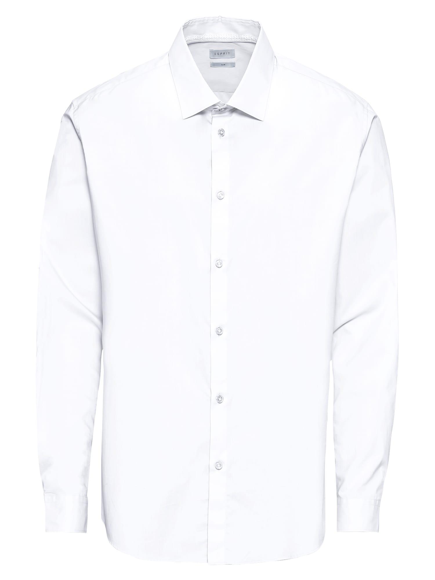 Košile N sol strtc LS bílá Esprit Collection