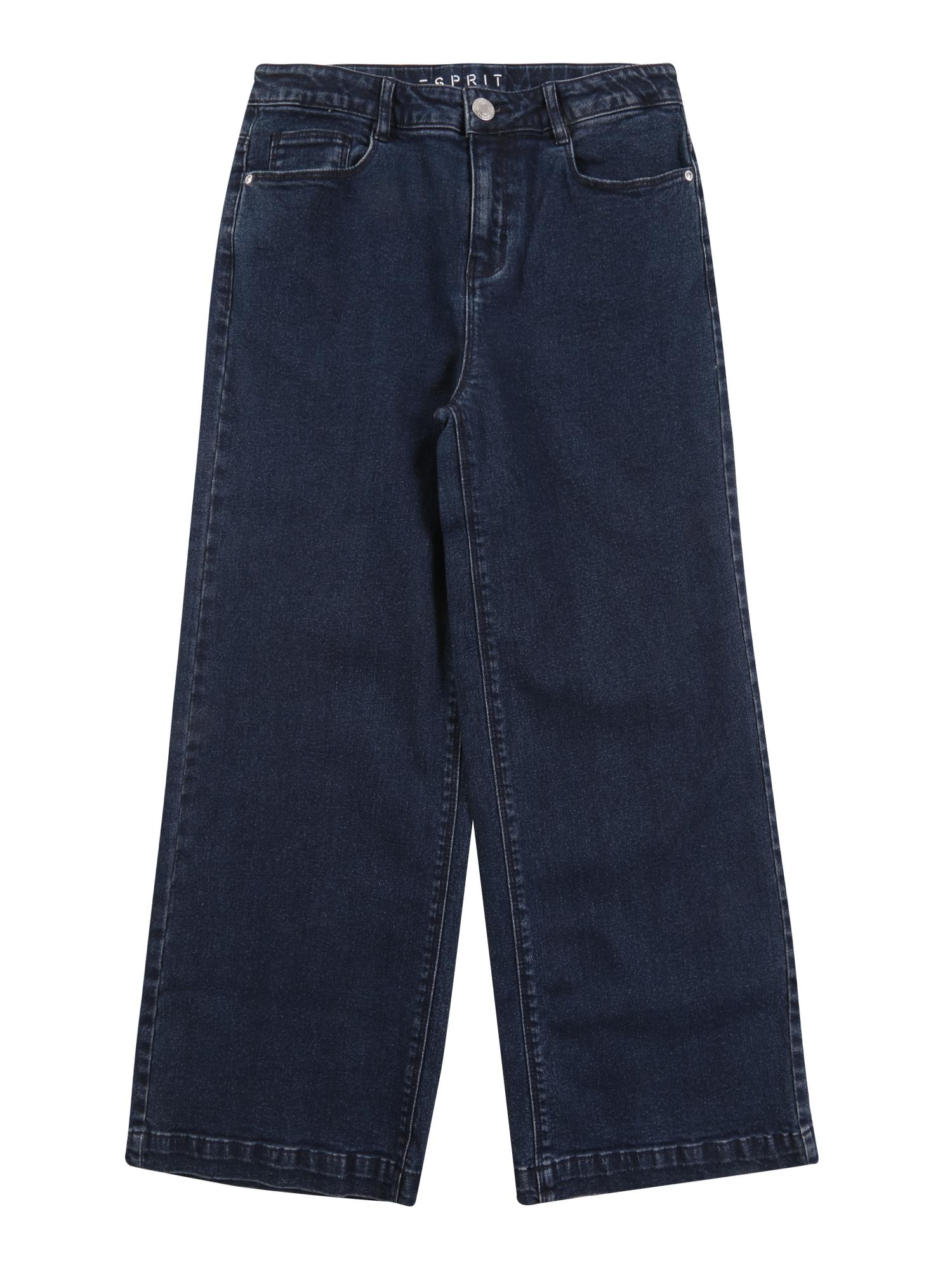 ESPRIT Kelnės tamsiai (džinso) mėlyna
