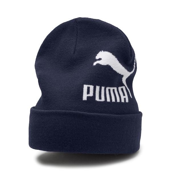 Muetzen für Frauen - PUMA Archive Logo Beanie dunkelblau  - Onlineshop ABOUT YOU