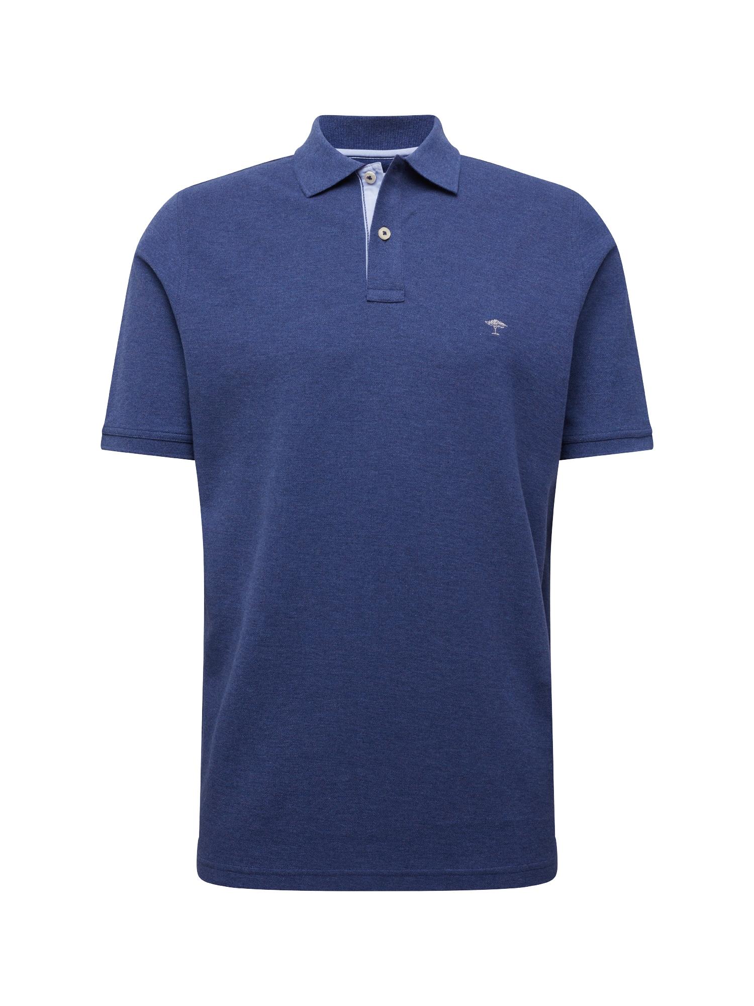 Tričko Polo Melange tmavě modrá FYNCH-HATTON