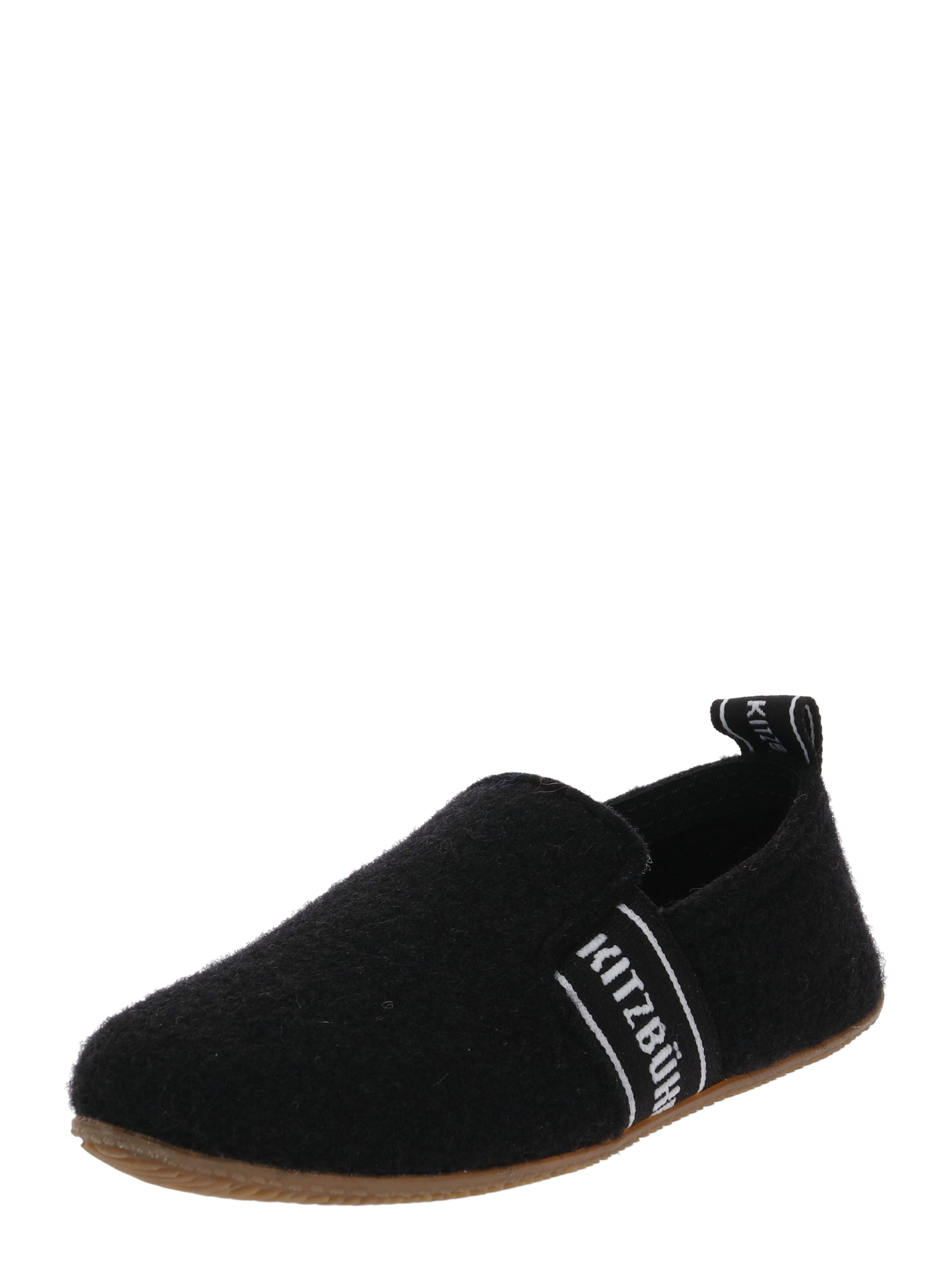 Pantofle černá Living Kitzbühel
