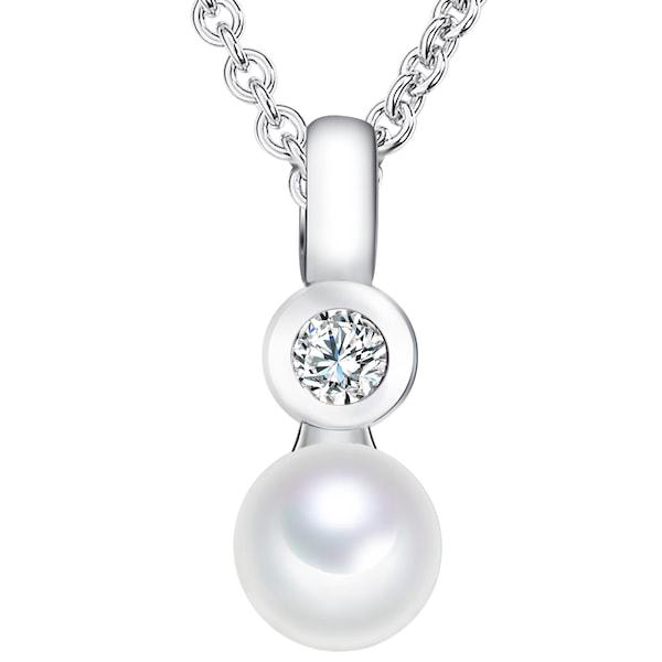 Ketten für Frauen - Valero Pearls Kette mit Anhänger silber  - Onlineshop ABOUT YOU
