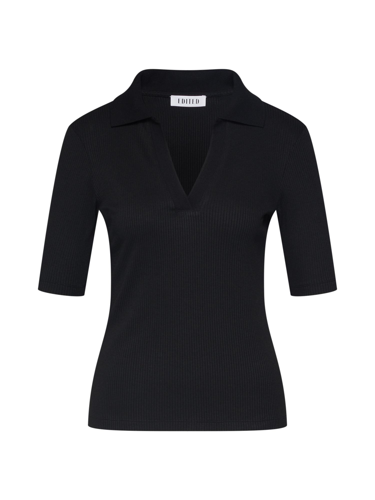 EDITED Marškinėliai 'Chani' juoda