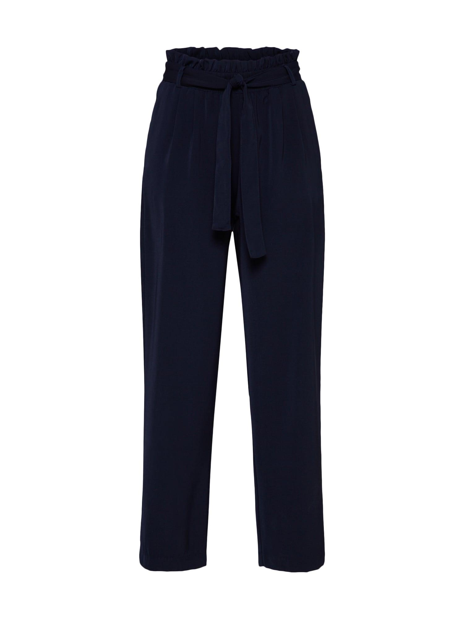 Kalhoty se sklady v pase Naila námořnická modř Sparkz