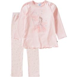 Sanetta Kinder,Mädchen,Mädchen,Kinder Ballerina Schlafanzug für Mädchen rosa   04055502444070