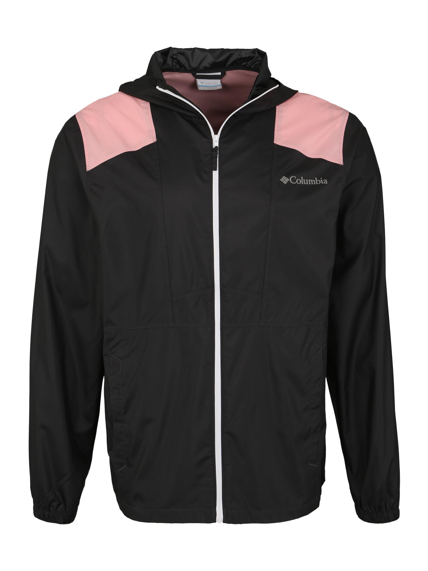 Outdoorová bunda Flashback růžová černá COLUMBIA