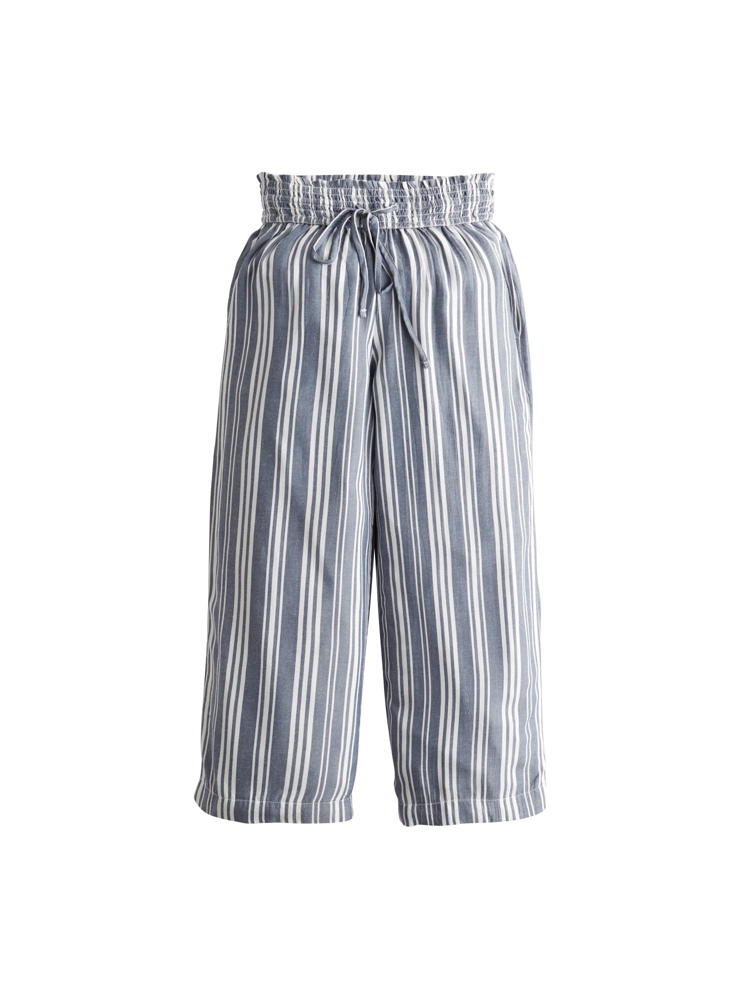 HOLLISTER Kelnės 'CHAIN' balta / šviesiai mėlyna