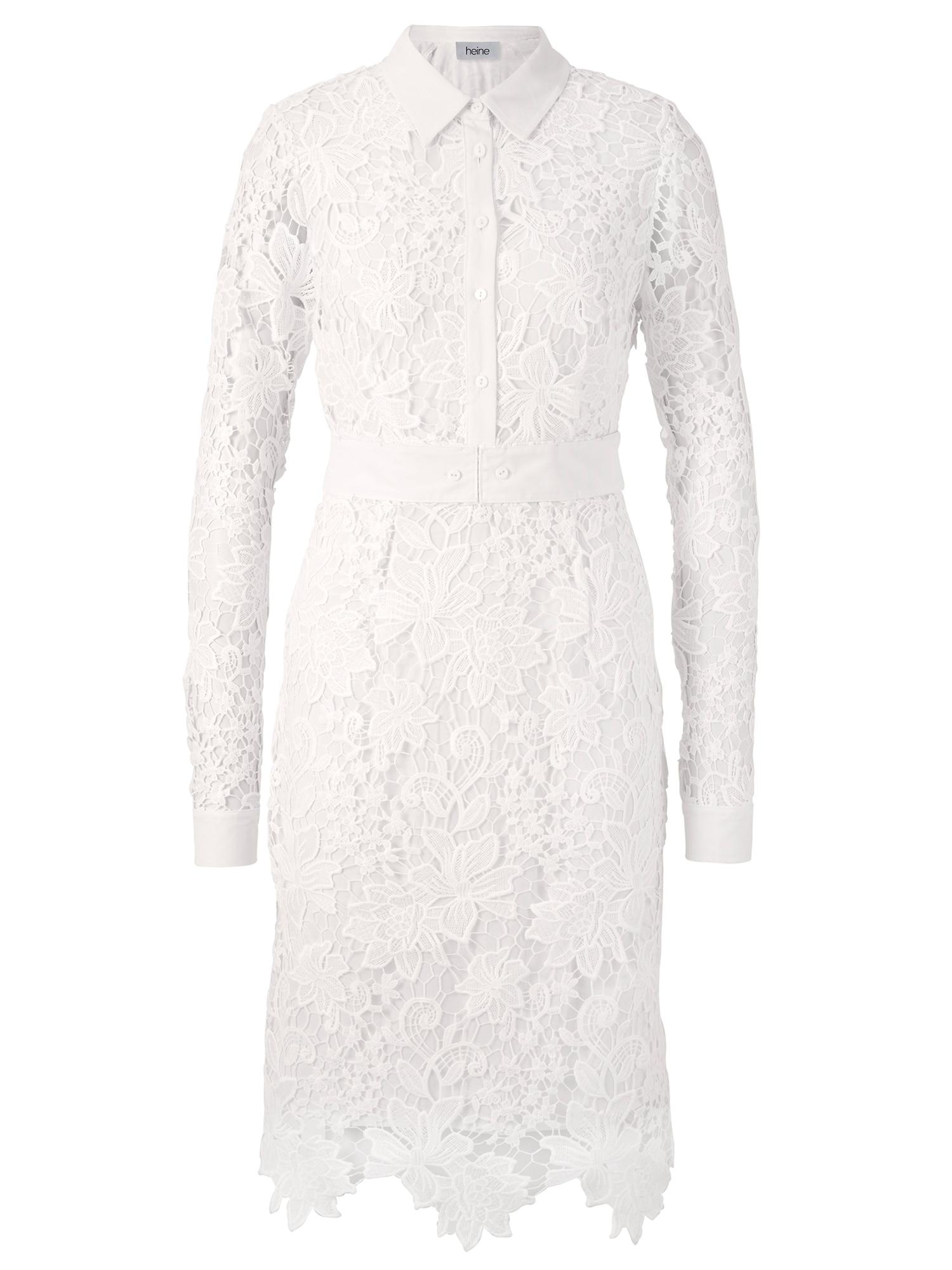 heine Šaty  bílá