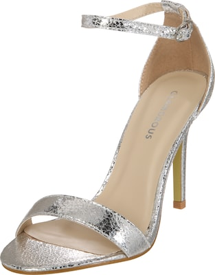 GLAMOROUS High-Heel im Metallic-Look