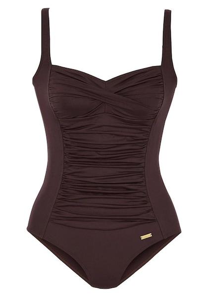 Bademode für Frauen - LASCANA Badeanzug braun  - Onlineshop ABOUT YOU