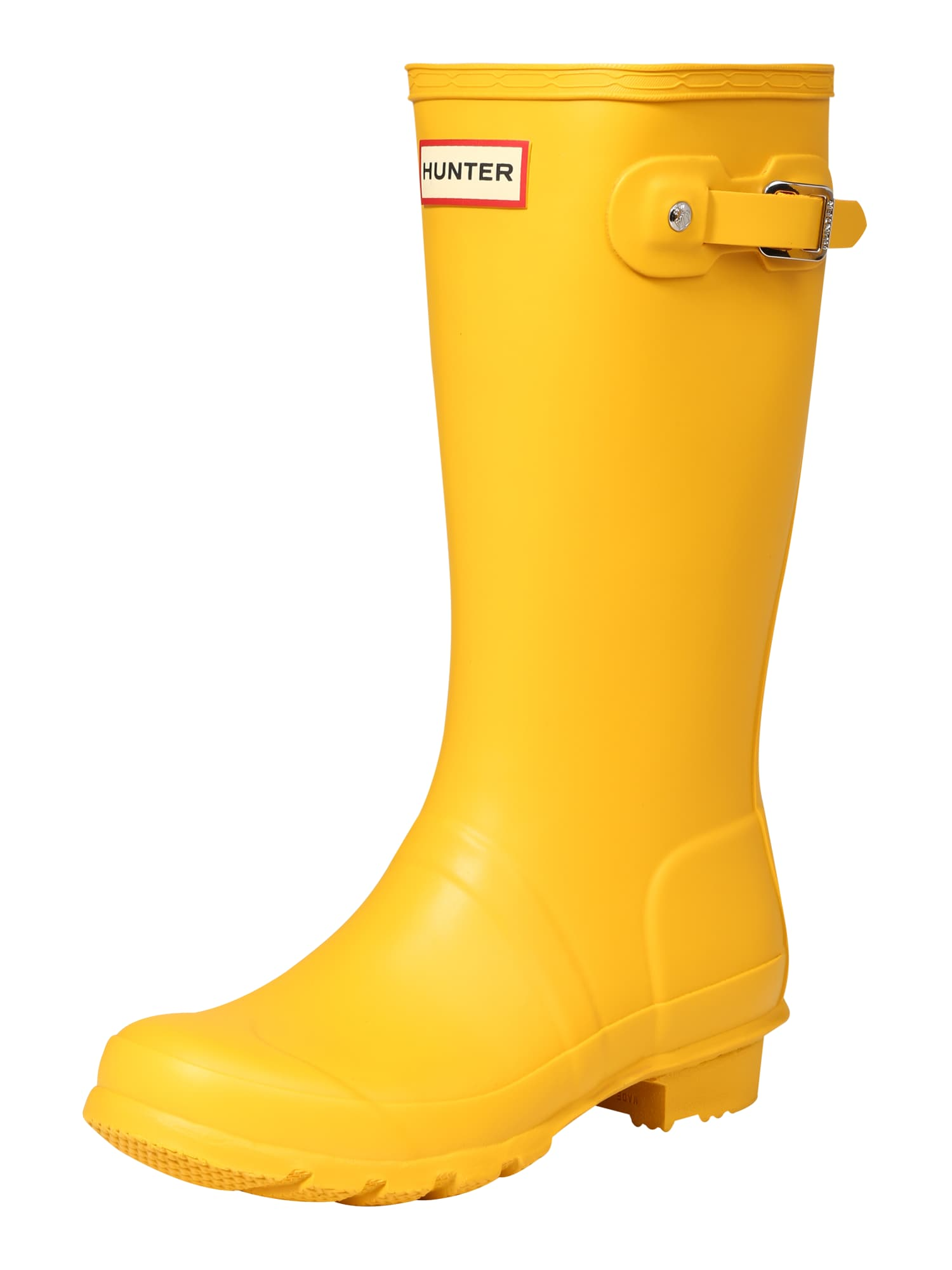 Gumové holínky žlutá HUNTER