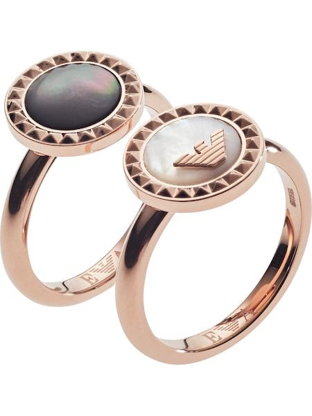 Ringe für Frauen - Emporio Armani Ring rosegold  - Onlineshop ABOUT YOU