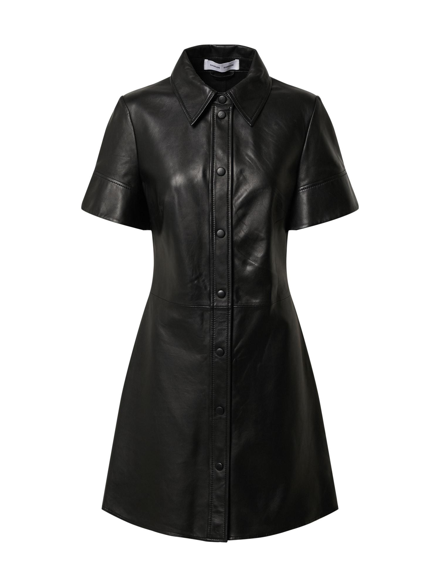 Samsoe Samsoe Košeľové šaty  čierna