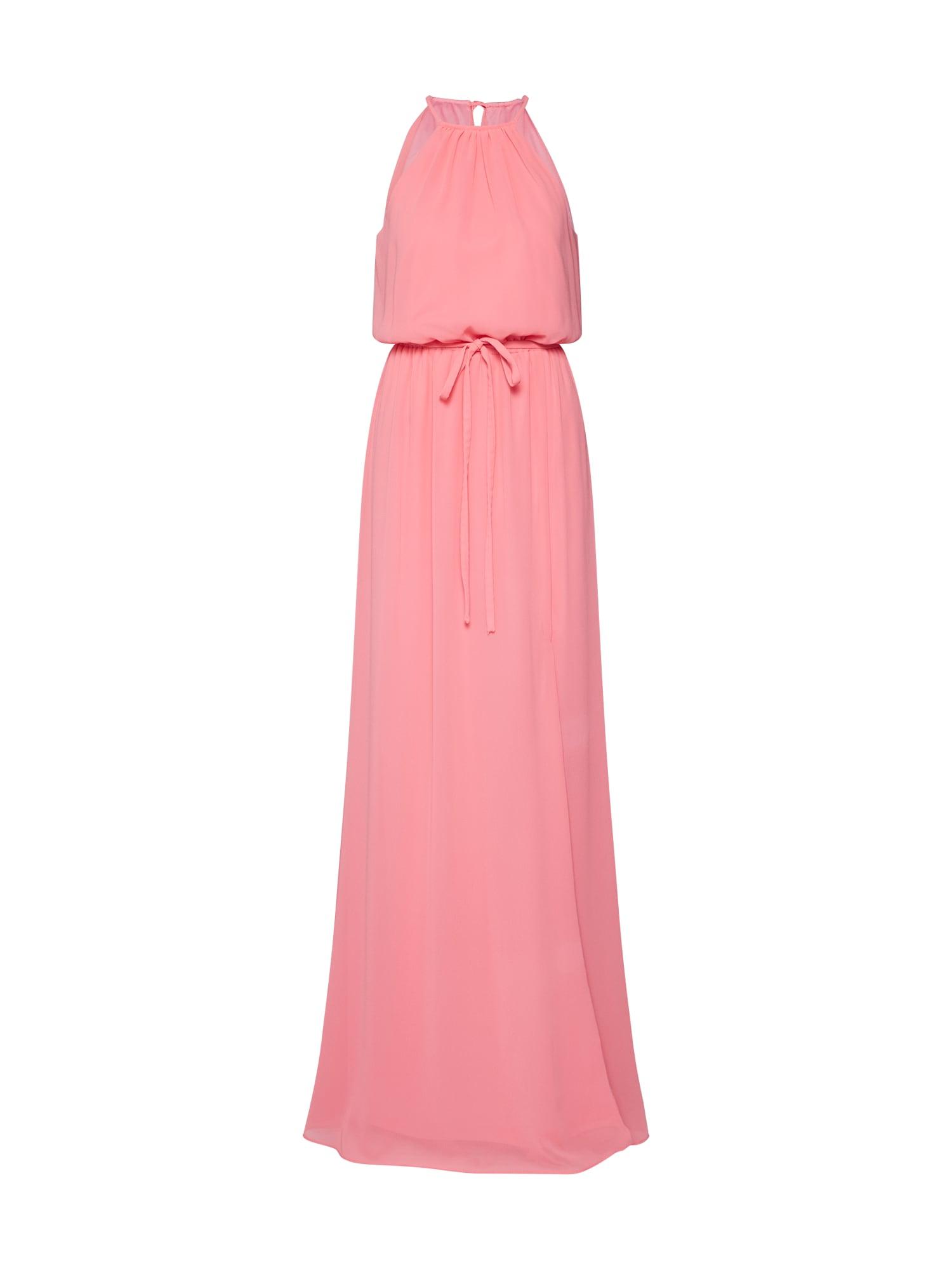 Společenské šaty long dress chiffon korálová STAR NIGHT