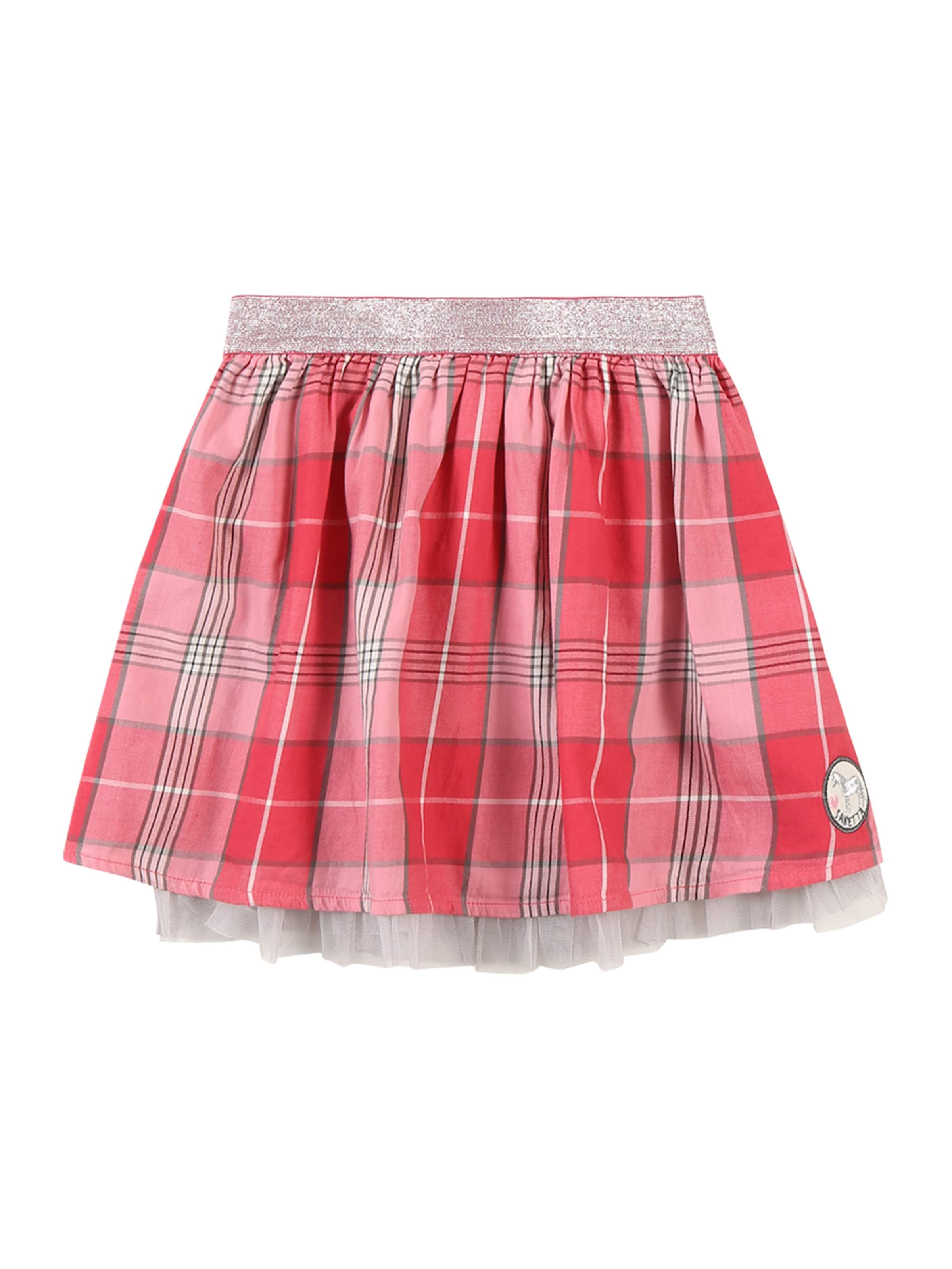 Kinder,  Mädchen,  Kinder Sanetta Kidswear Rock blau, braun, grau,  pink   04055502975055