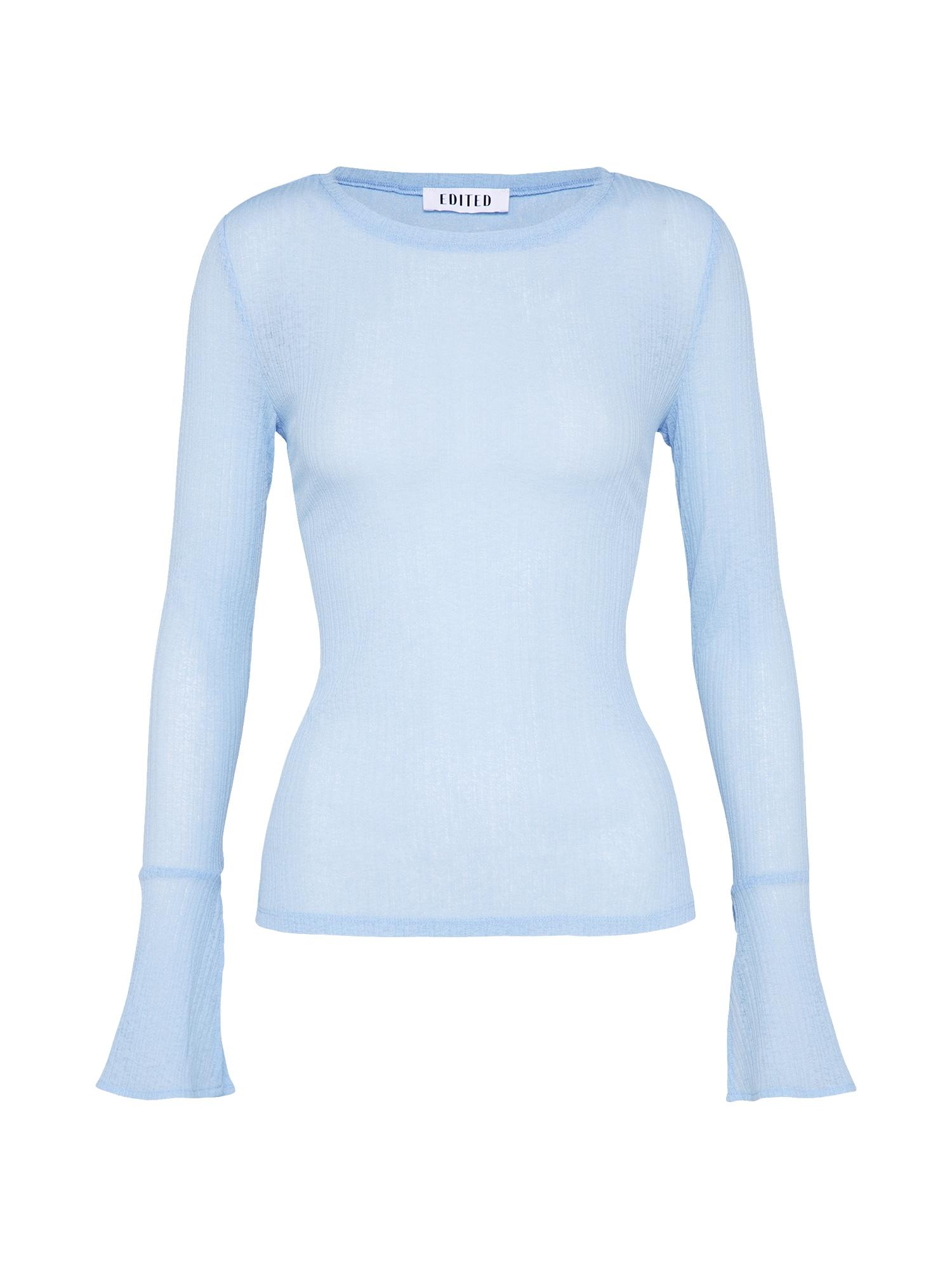 EDITED Marškinėliai 'Zehra' šviesiai mėlyna
