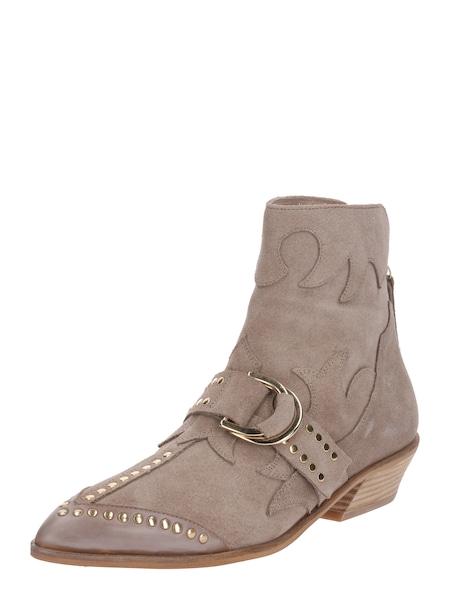Stiefel für Frauen - Stiefeletten mit Nietenverzierung › Farina Opoku › sand  - Onlineshop ABOUT YOU