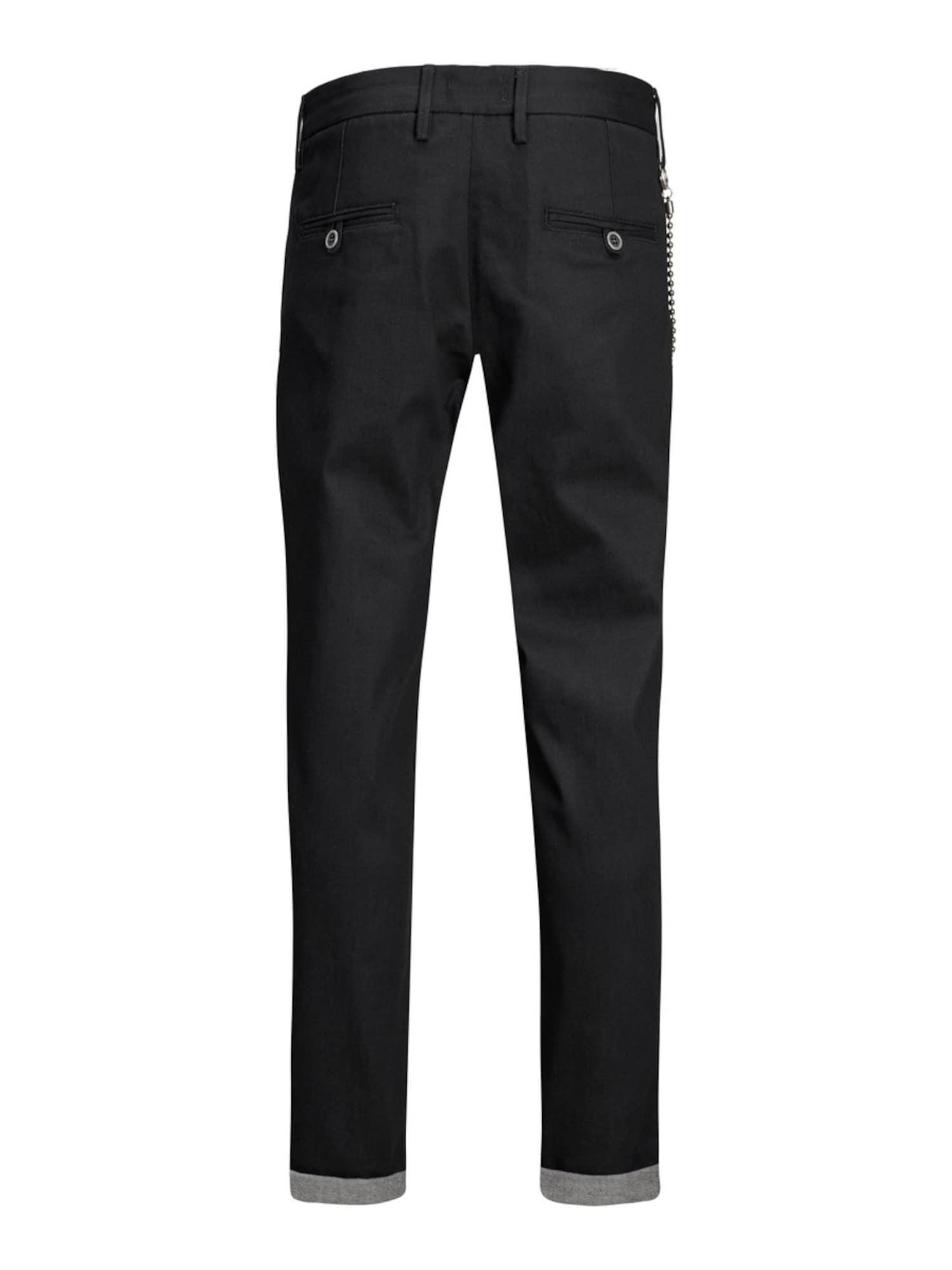 JACK & JONES Jeans 'ACE MILTON JOS 370'  svart denim