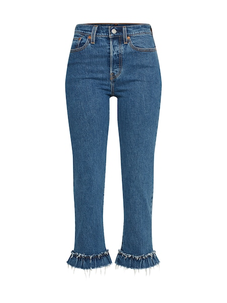 Hosen für Frauen - LEVI'S Jeans 'Wedgie Straight' blue denim  - Onlineshop ABOUT YOU