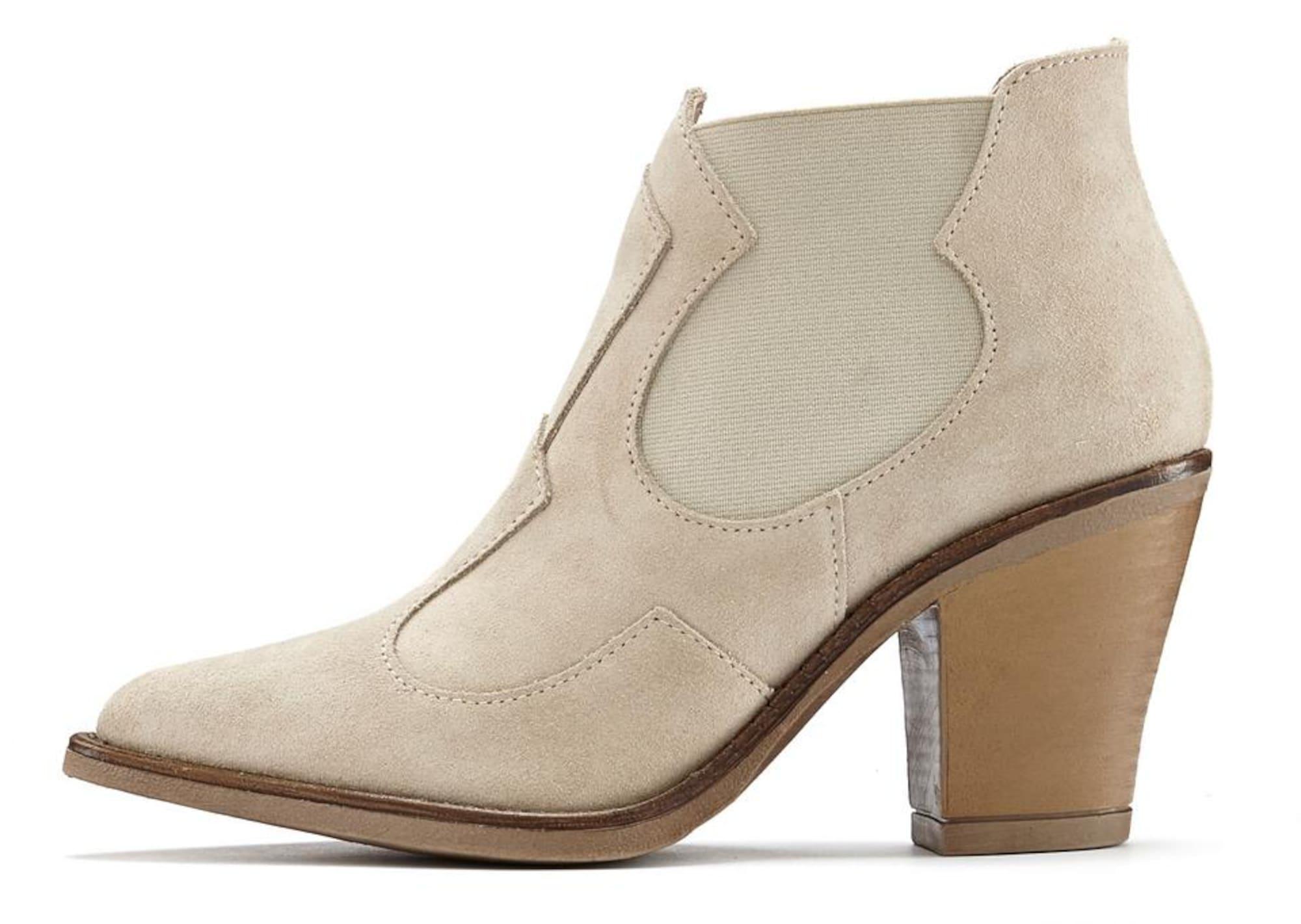 LASCANA Chelsea batai kapučino spalva