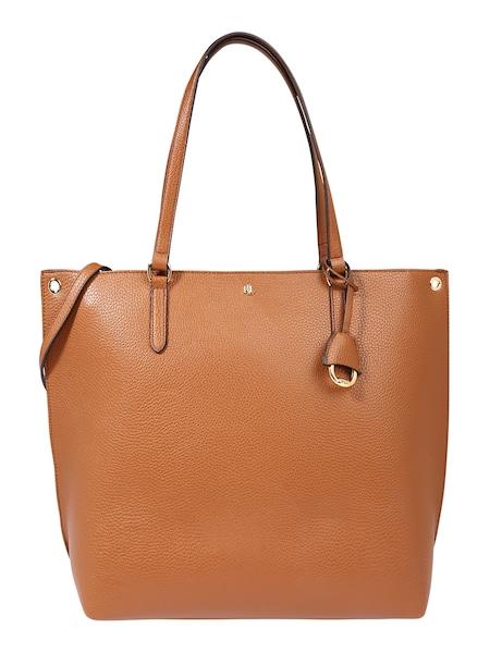 Shopper - Shopper 'ABBY 33 TOTE LARGE' › Lauren Ralph Lauren › cognac gold  - Onlineshop ABOUT YOU