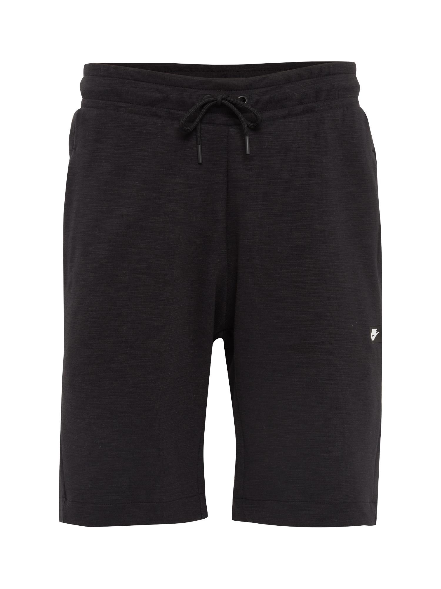 Nike Sportswear Nohavice 'M NSW OPTIC SHORT'  čierna