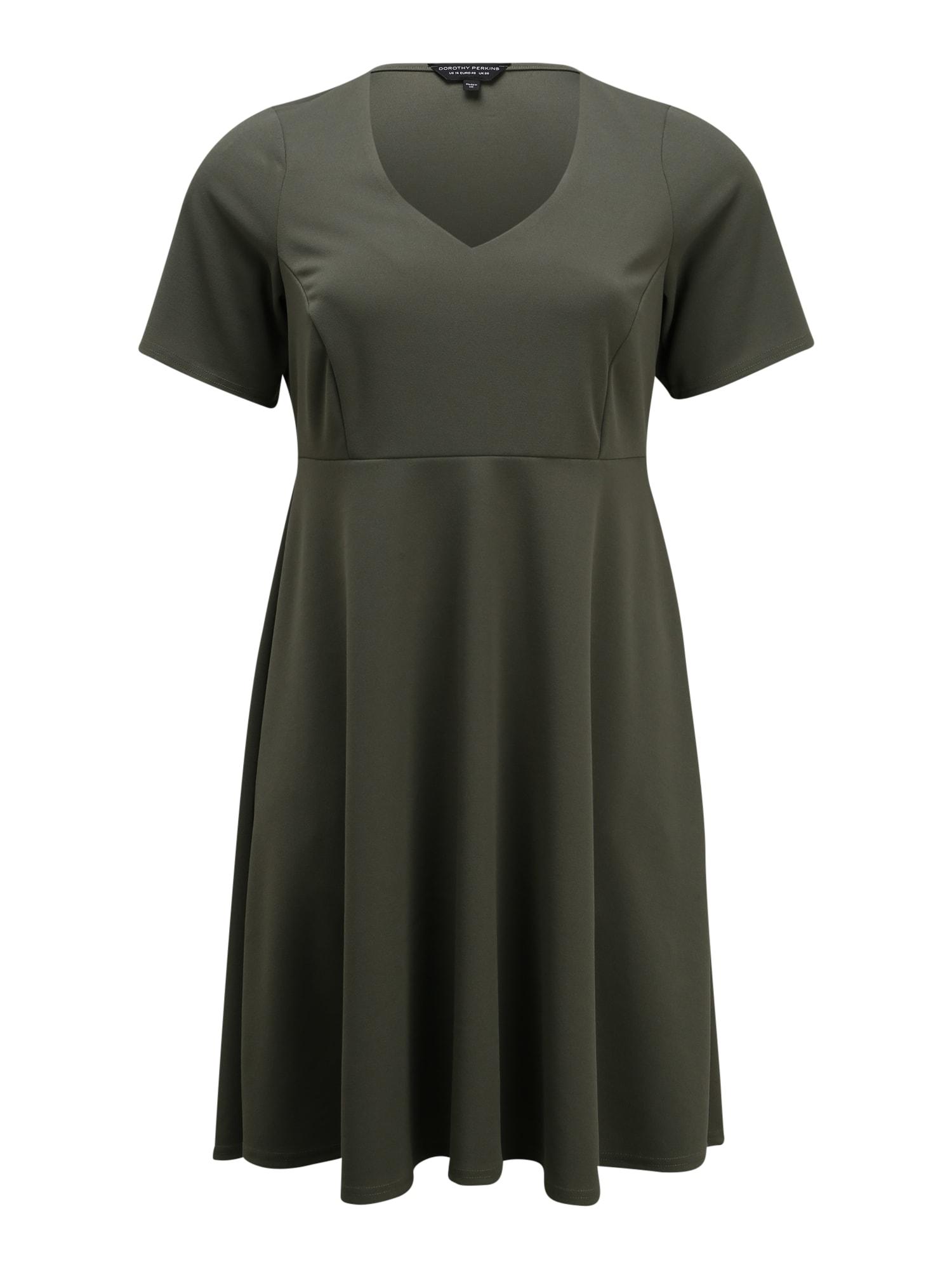 Dorothy Perkins Curve Suknelė žalia