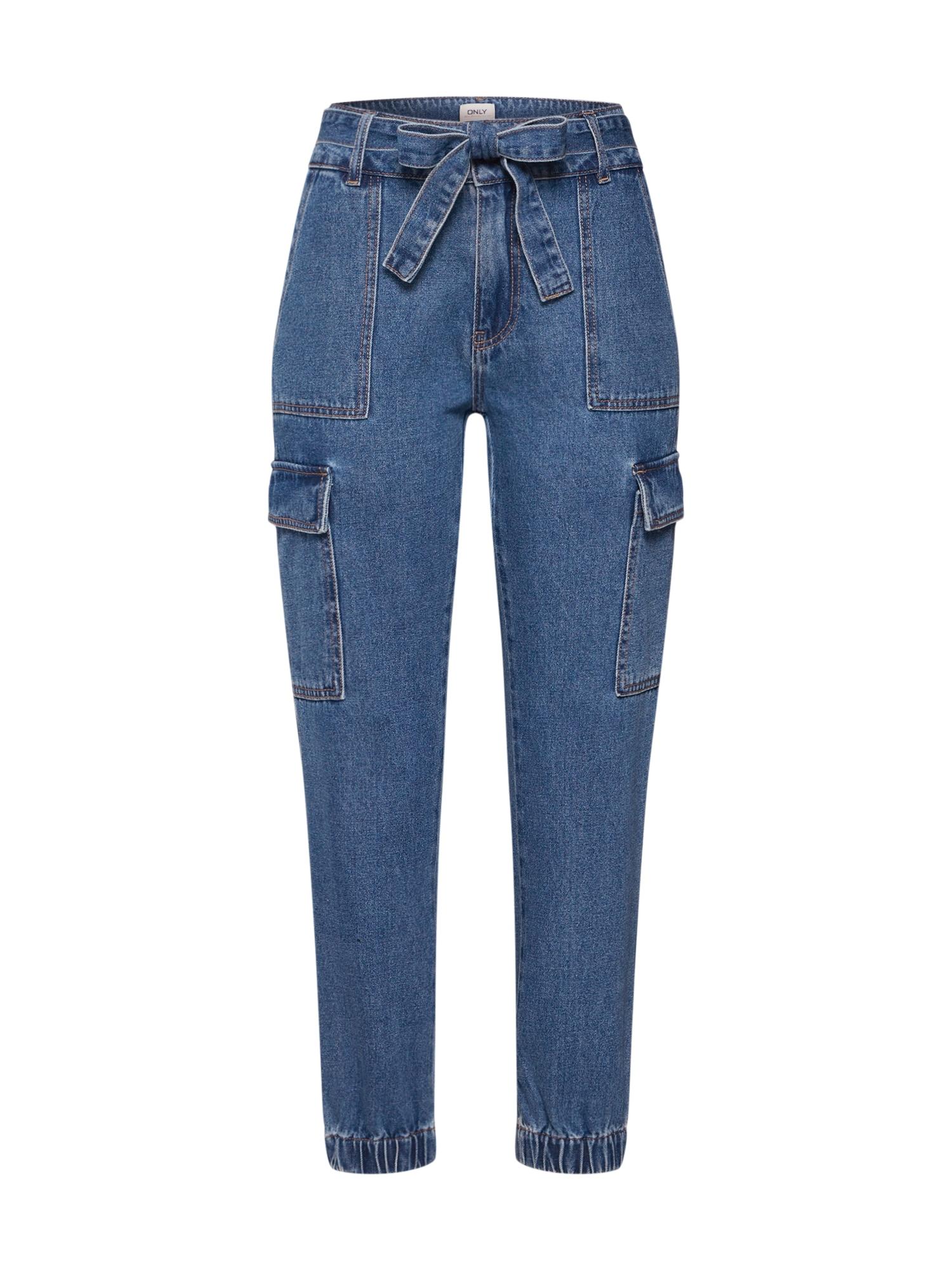 ONLY Džinsai 'PATRICIA' tamsiai (džinso) mėlyna