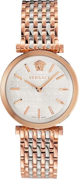 Uhren für Frauen - Uhr 'V TWIST, VELS00719' › Versace › gold silber  - Onlineshop ABOUT YOU