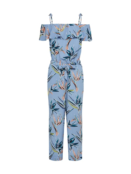 Hosen für Frauen - TOM TAILOR DENIM Jumpsuit hellblau mischfarben  - Onlineshop ABOUT YOU