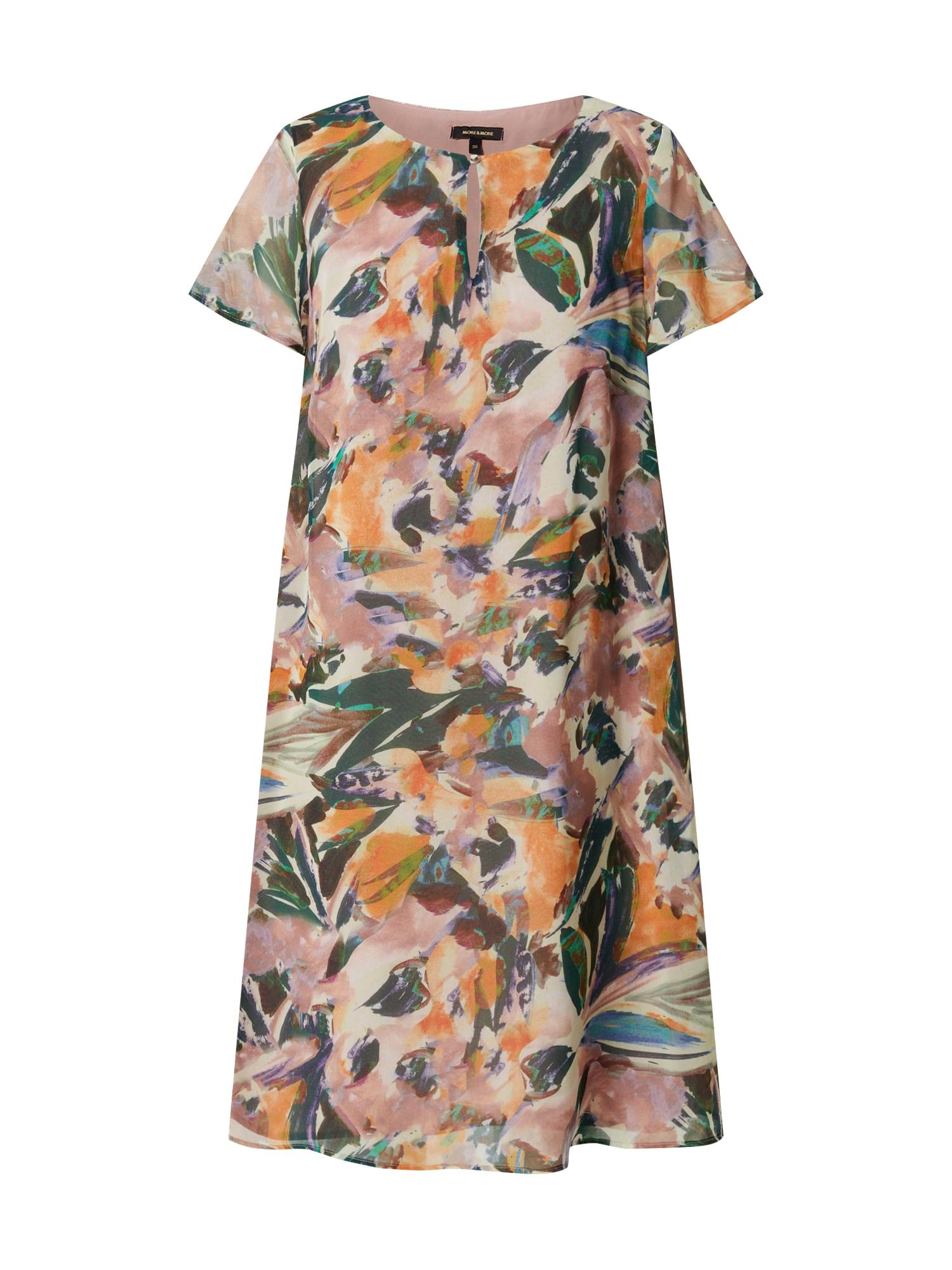 MORE & MORE Letní šaty  bledě fialová / mix barev
