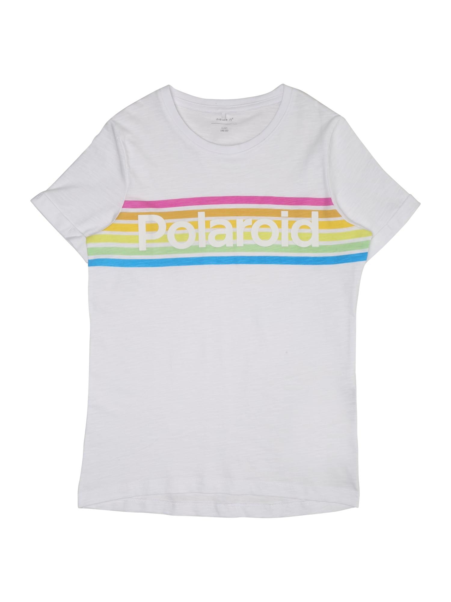 Tričko POLAROID HADAYA mix barev bílá NAME IT