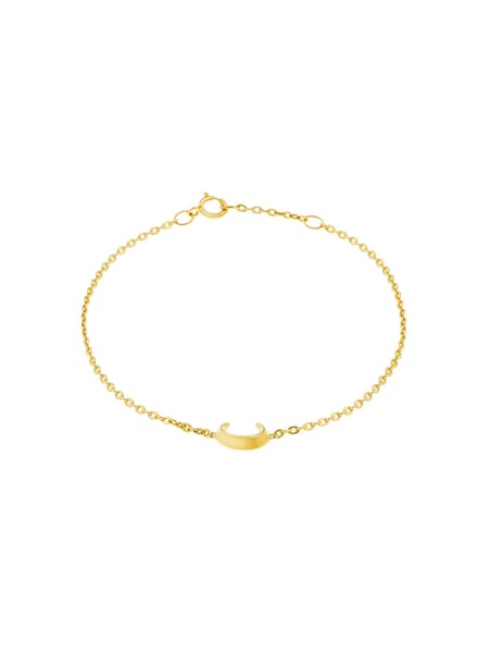 Armbaender für Frauen - ID Fine Crescent Moon Armband gold  - Onlineshop ABOUT YOU