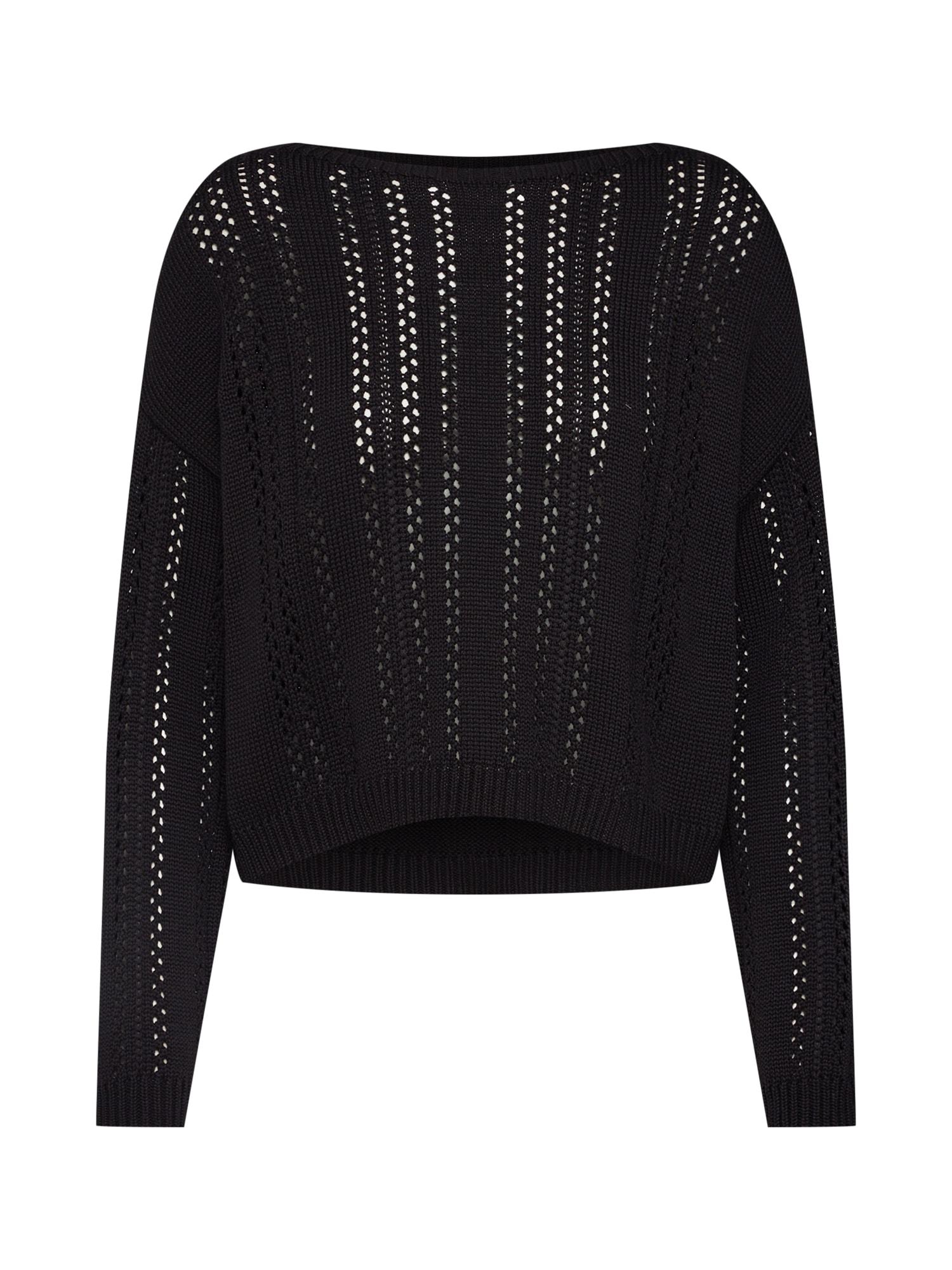 ABOUT YOU Megztinis 'Hermine' juoda